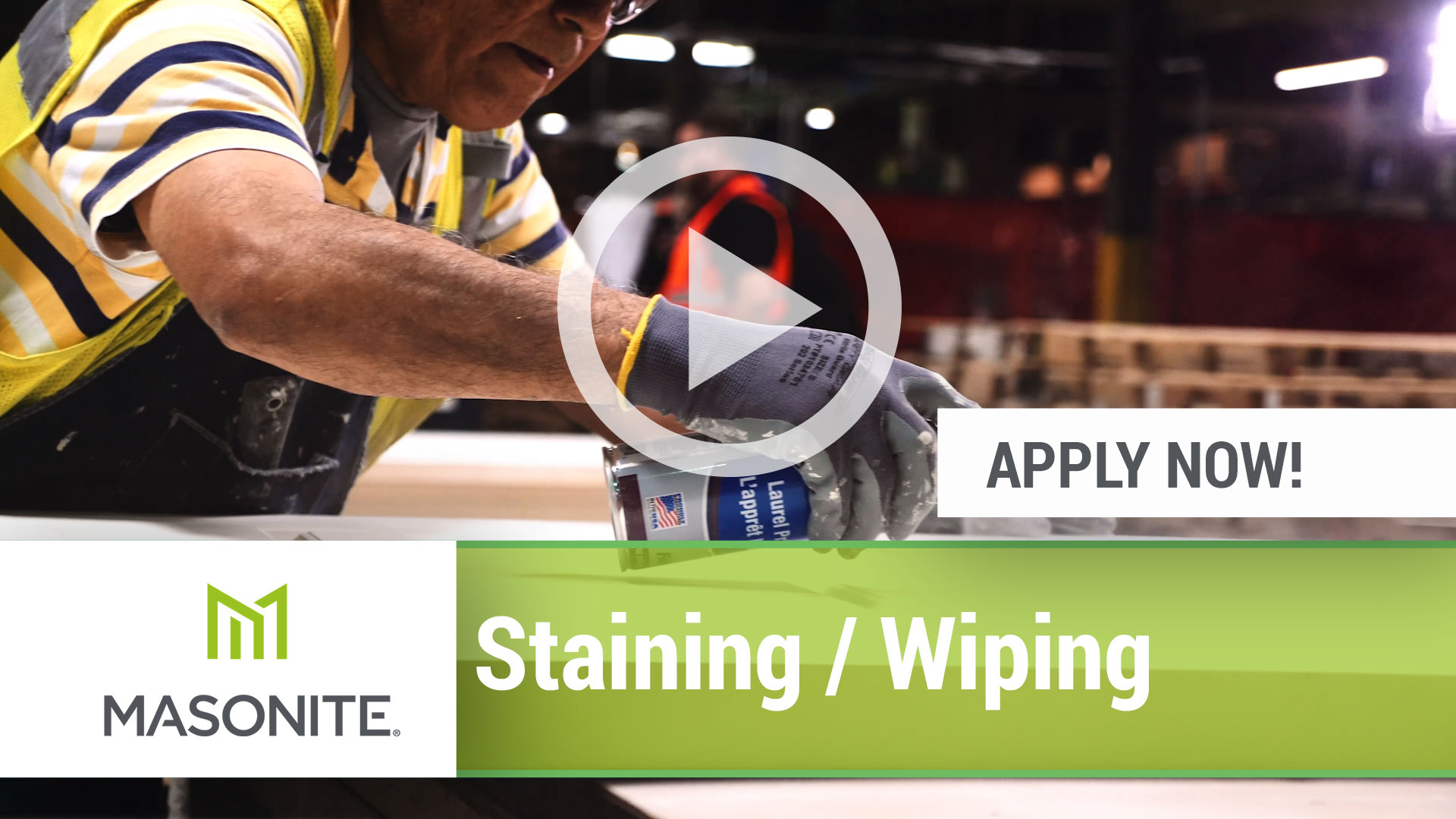 Watch our careers video for available job opening Staining _ Wiping Associate in Mesquite, TX, USA