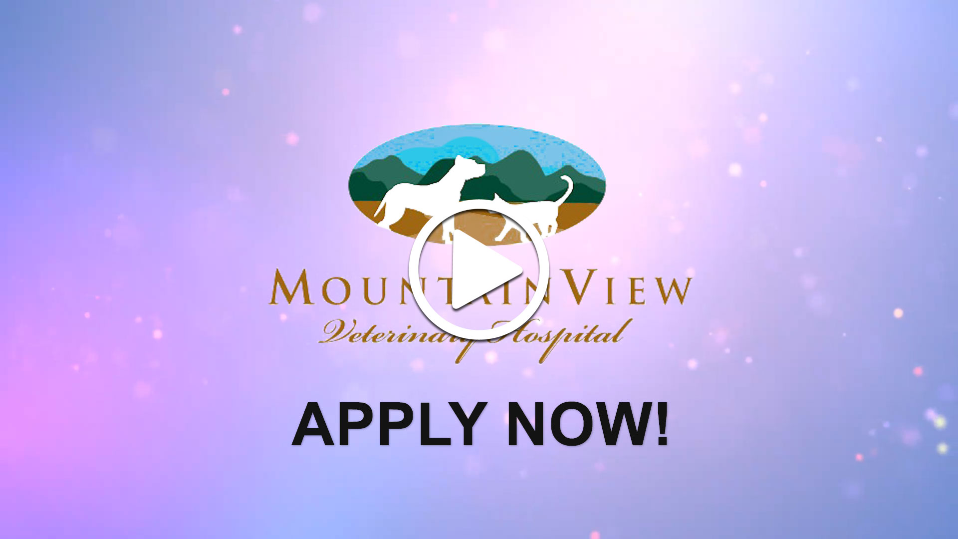 Watch our careers video for available job opening Veterinarian in Morris County, NJ, USA