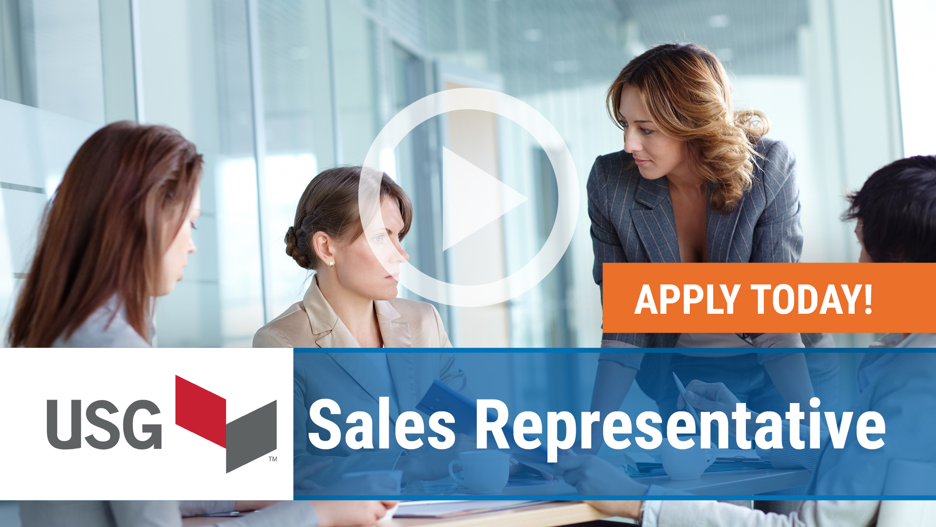 Watch our careers video for available job opening Sales Representative in Chicago, IL
