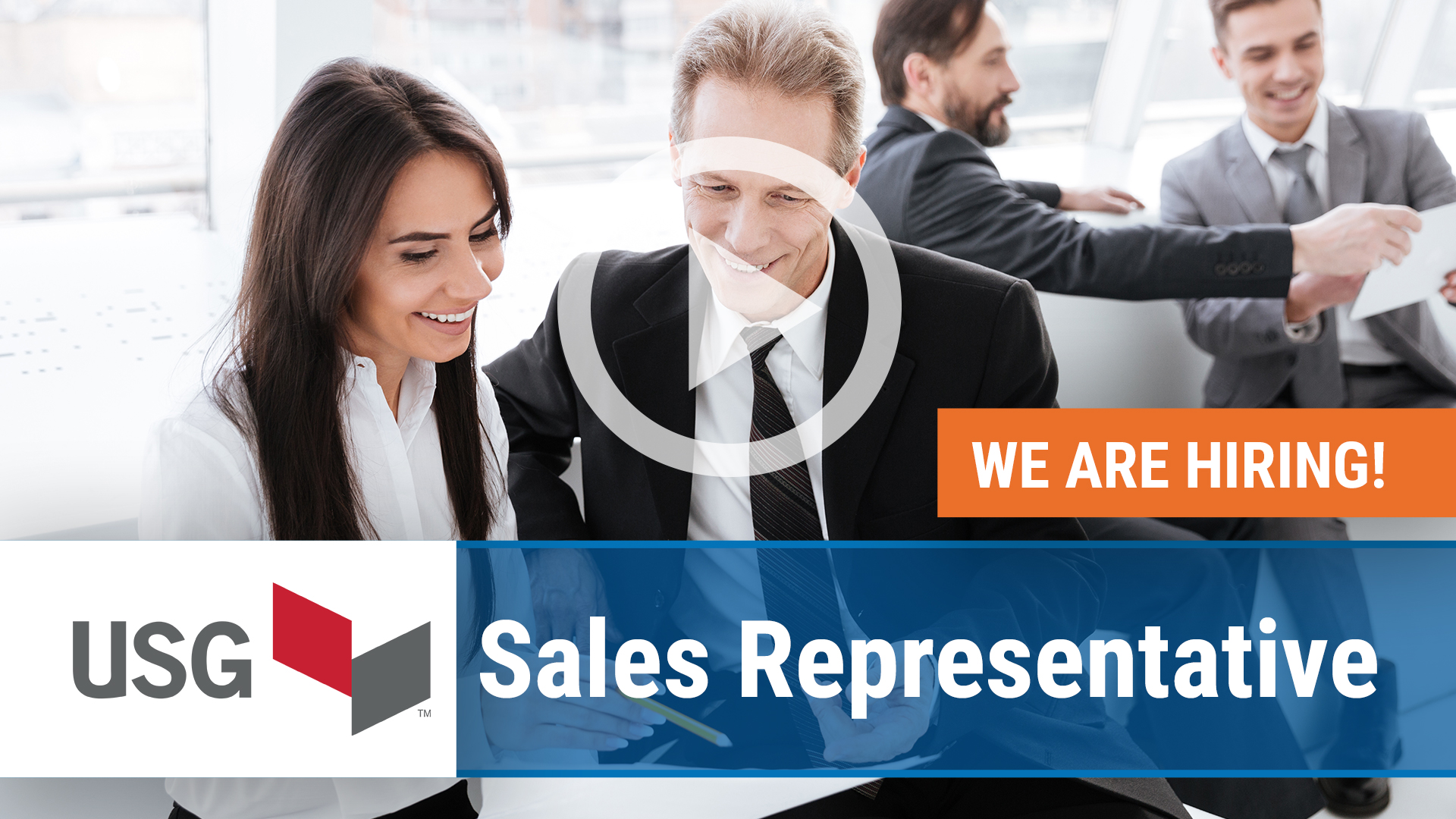 Watch our careers video for available job opening Sales Representative in California, CA