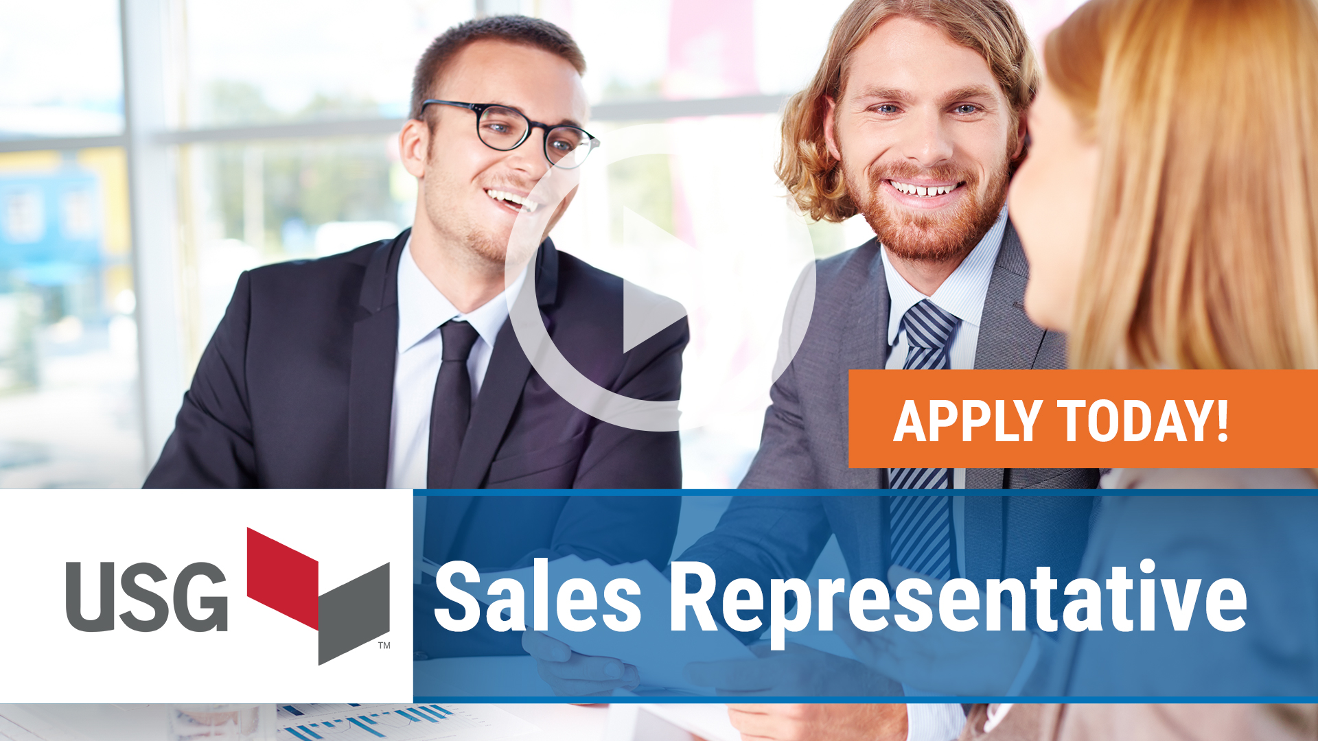 Watch our careers video for available job opening Sales Representative in Indianapolis, IN