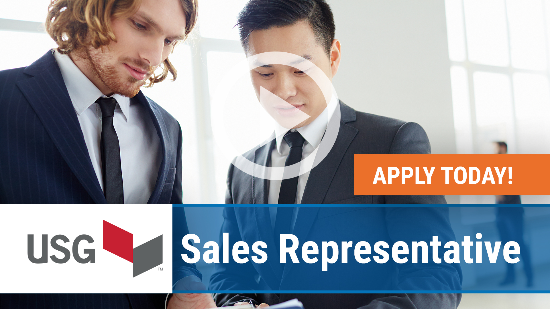 Watch our careers video for available job opening Sales Representative in Maryland, MD