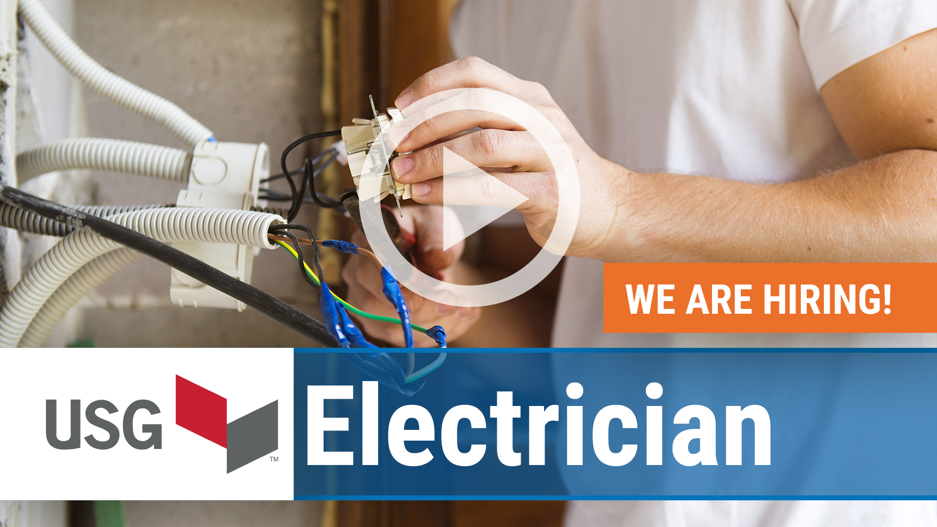 Watch our careers video for available job opening Electrician in Gypsum, OH