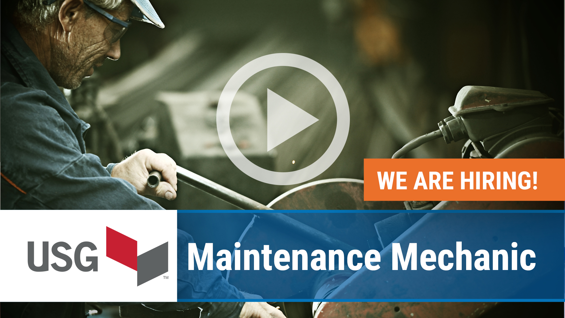 Watch our careers video for available job opening Maintenance Mechanic in Sweetwater, TX
