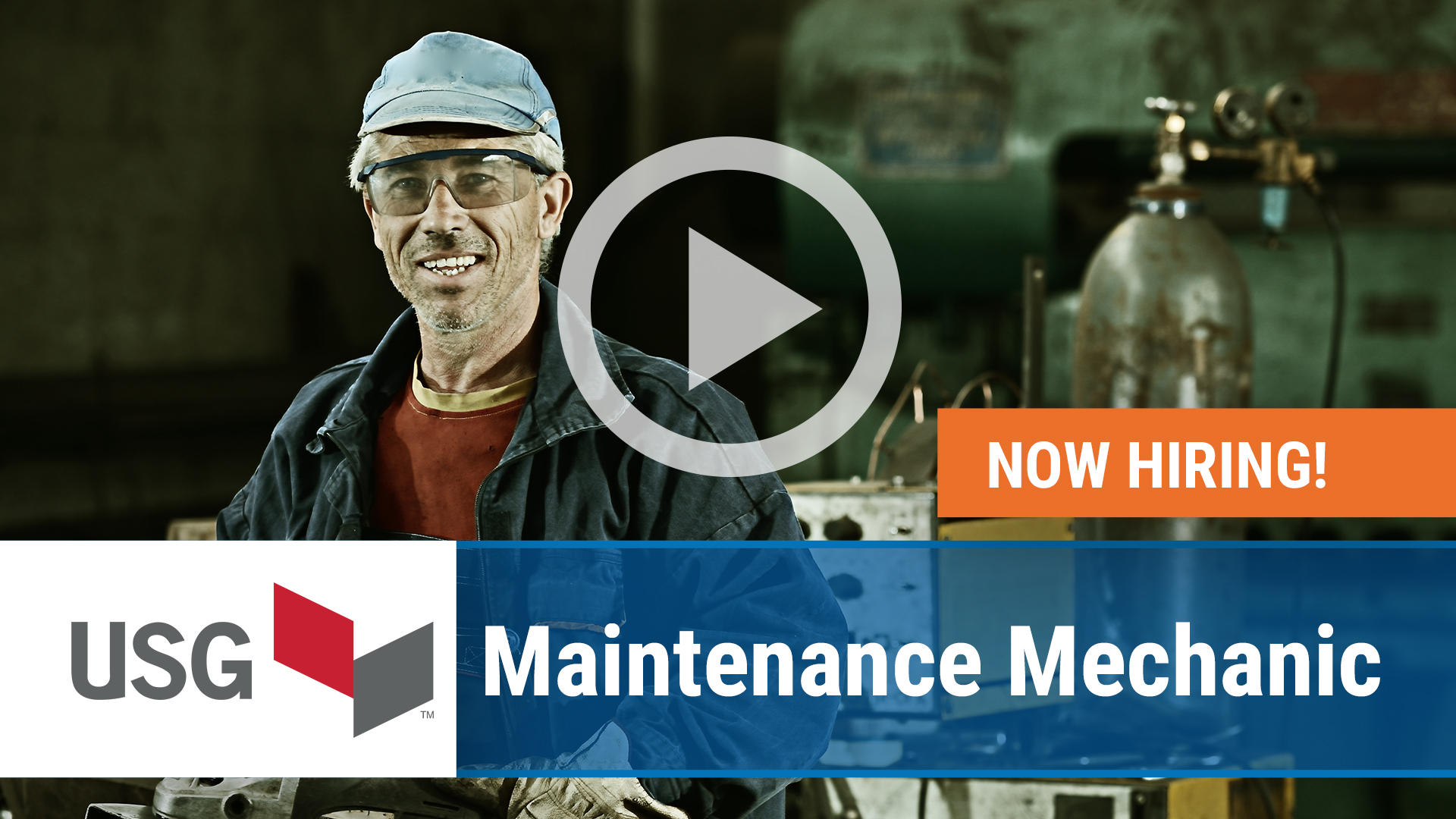 Watch our careers video for available job opening Maintenance Mechanic in Oakfield, NY, USA
