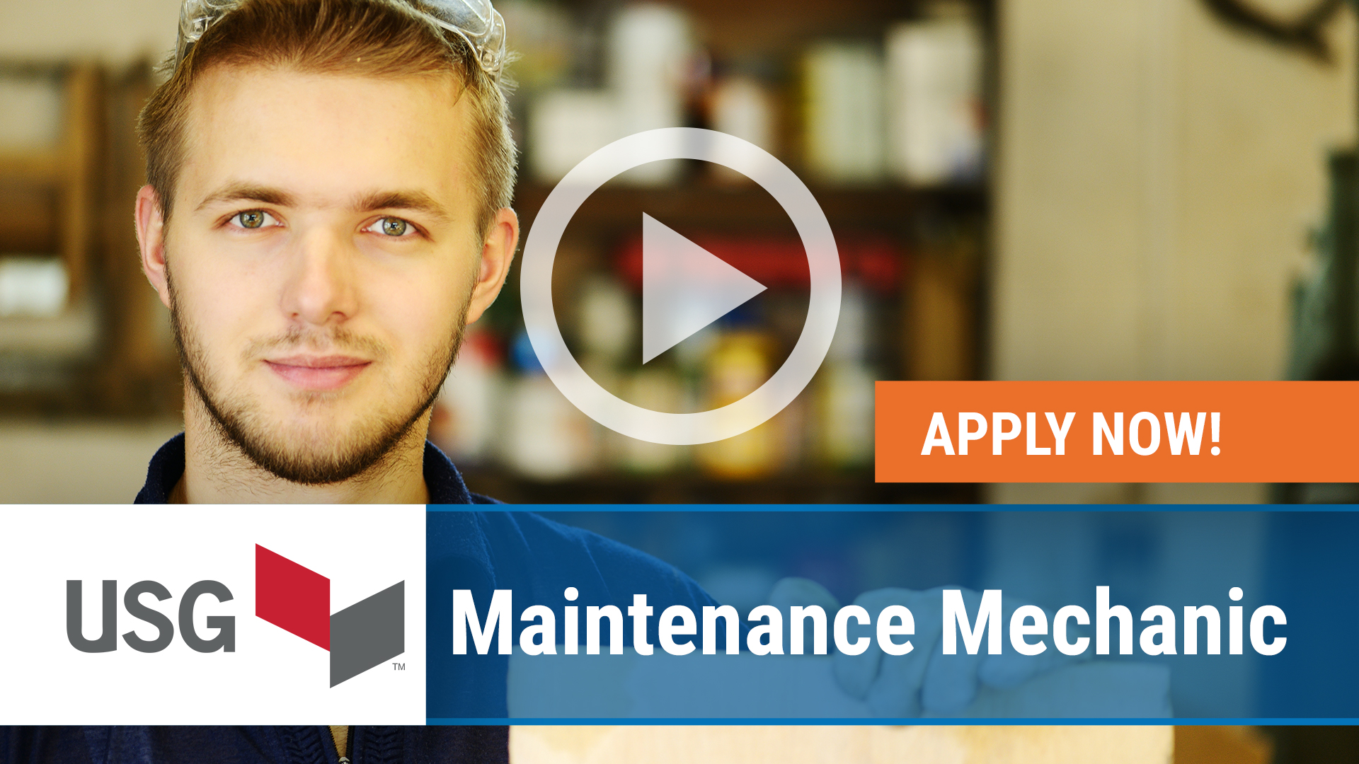 Watch our careers video for available job opening Maintenance Mechanic in Gypsum, OH