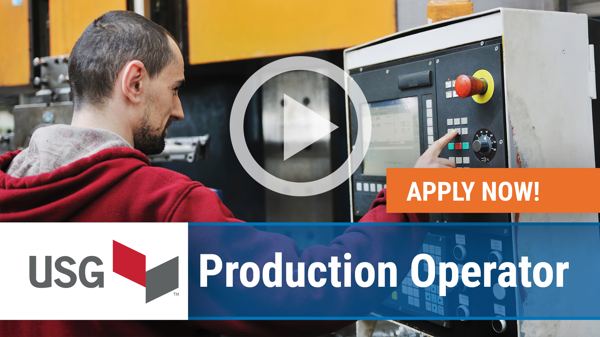 Watch our careers video for available job opening Production Operator in Washingtonville, PA, USA