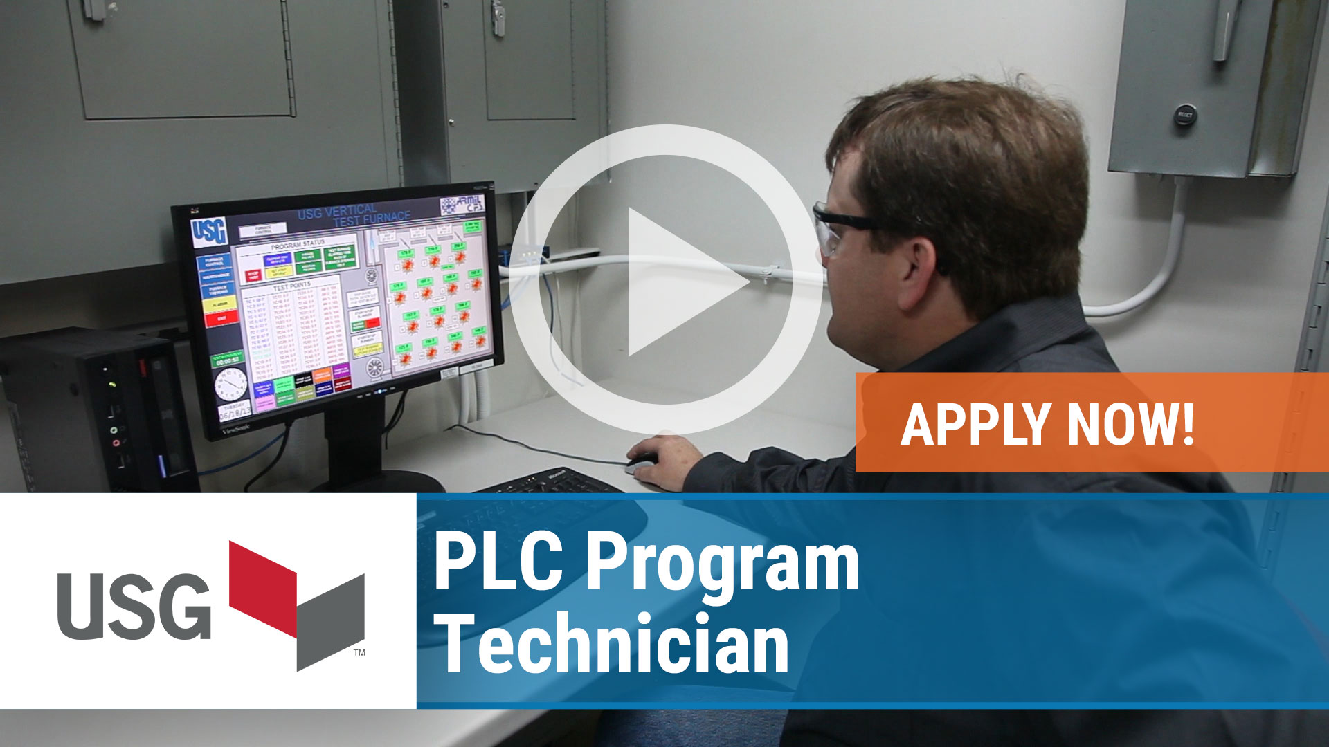 Watch our careers video for available job opening PLC Program Technician in Jacksonville, Florida