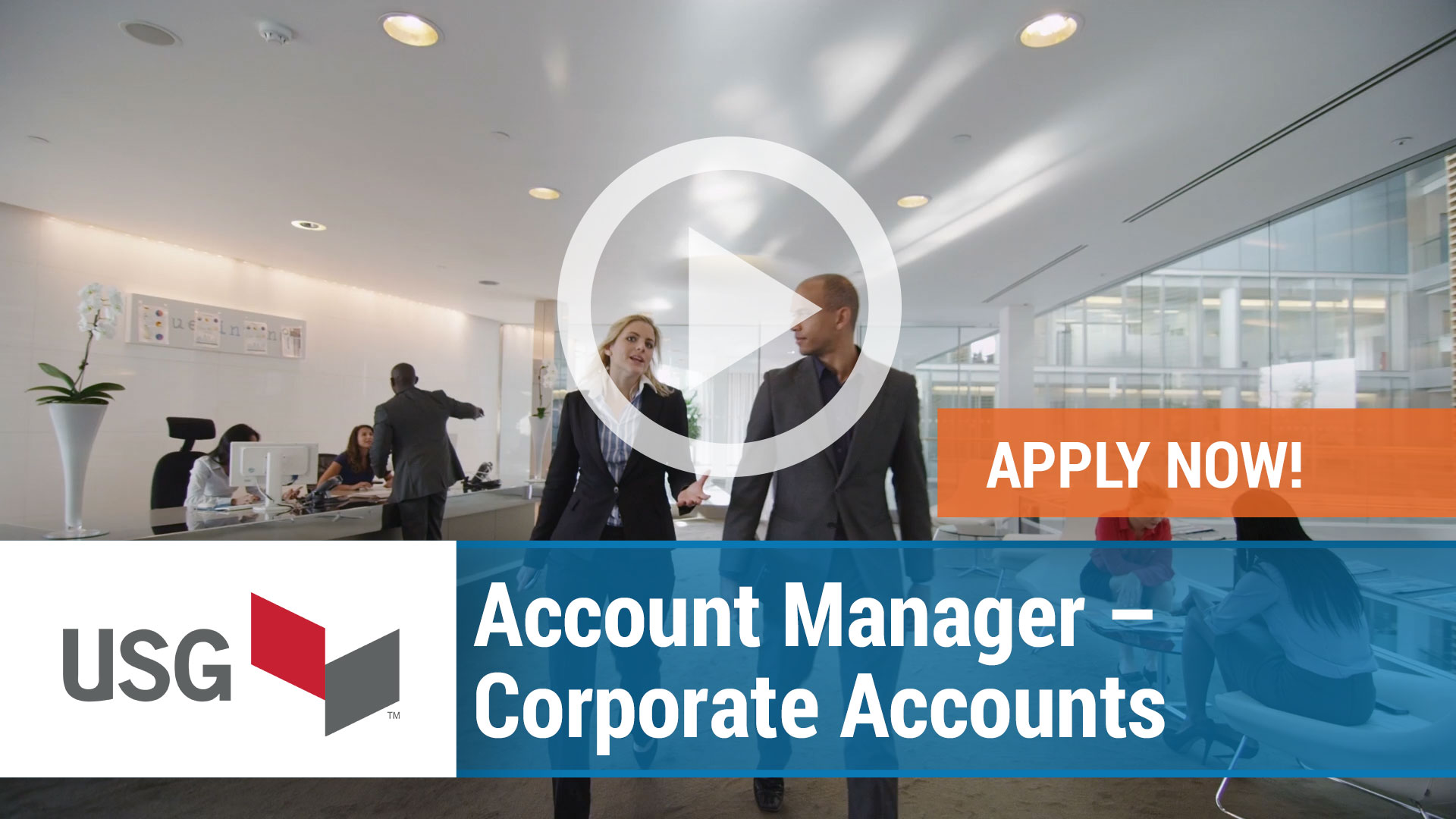 Watch our careers video for available job opening Account Manager - Corporate Accounts in Chicago, IL.  USA