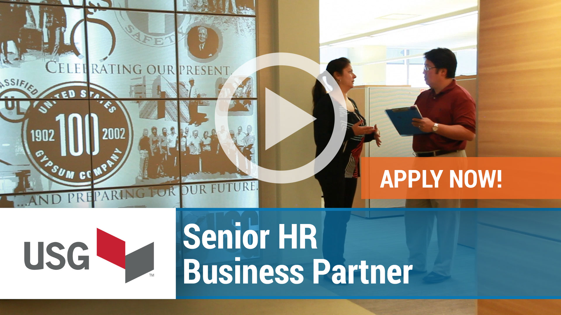 Watch our careers video for available job opening Senior HR Business Partner in Chicago, IL, USA