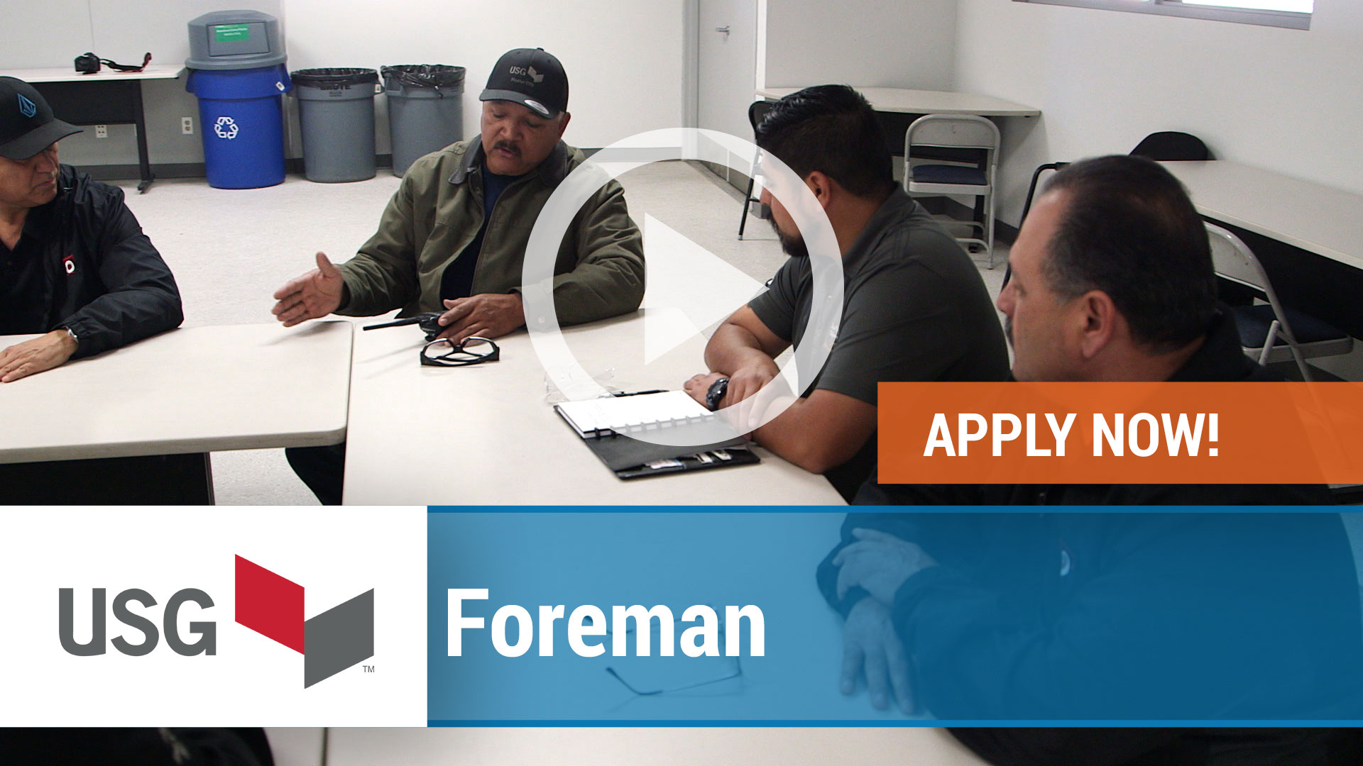 Watch our careers video for available job opening Foreman in Bridgeport, AL, USA