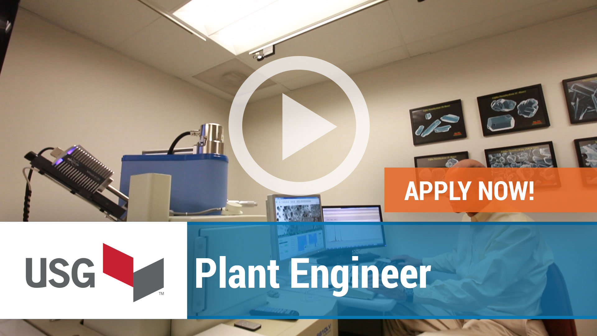 Watch our careers video for available job opening Plant Engineer in United States
