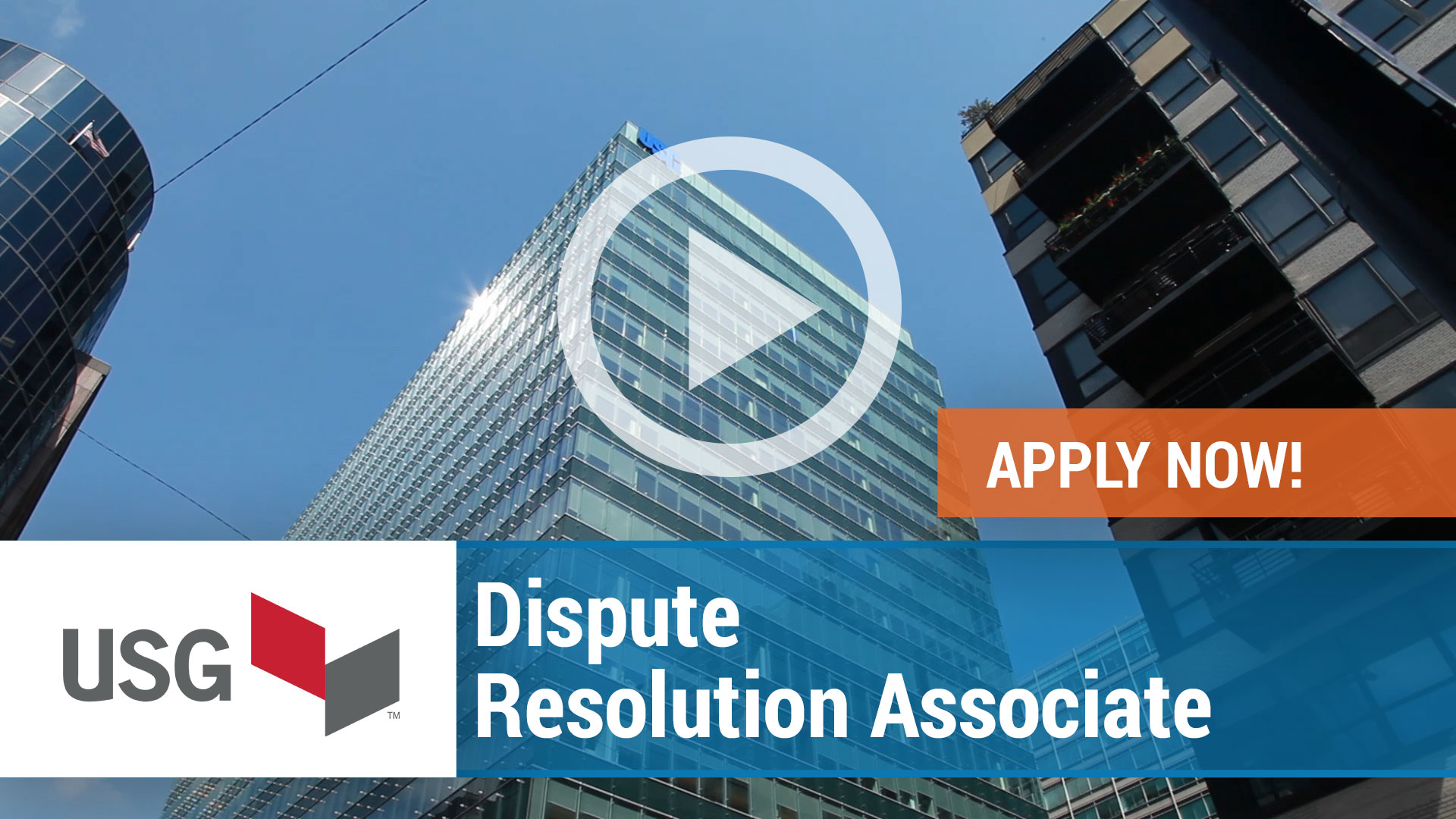 Watch our careers video for available job opening Dispute Resolution Associate in Chicago, IL.  USA