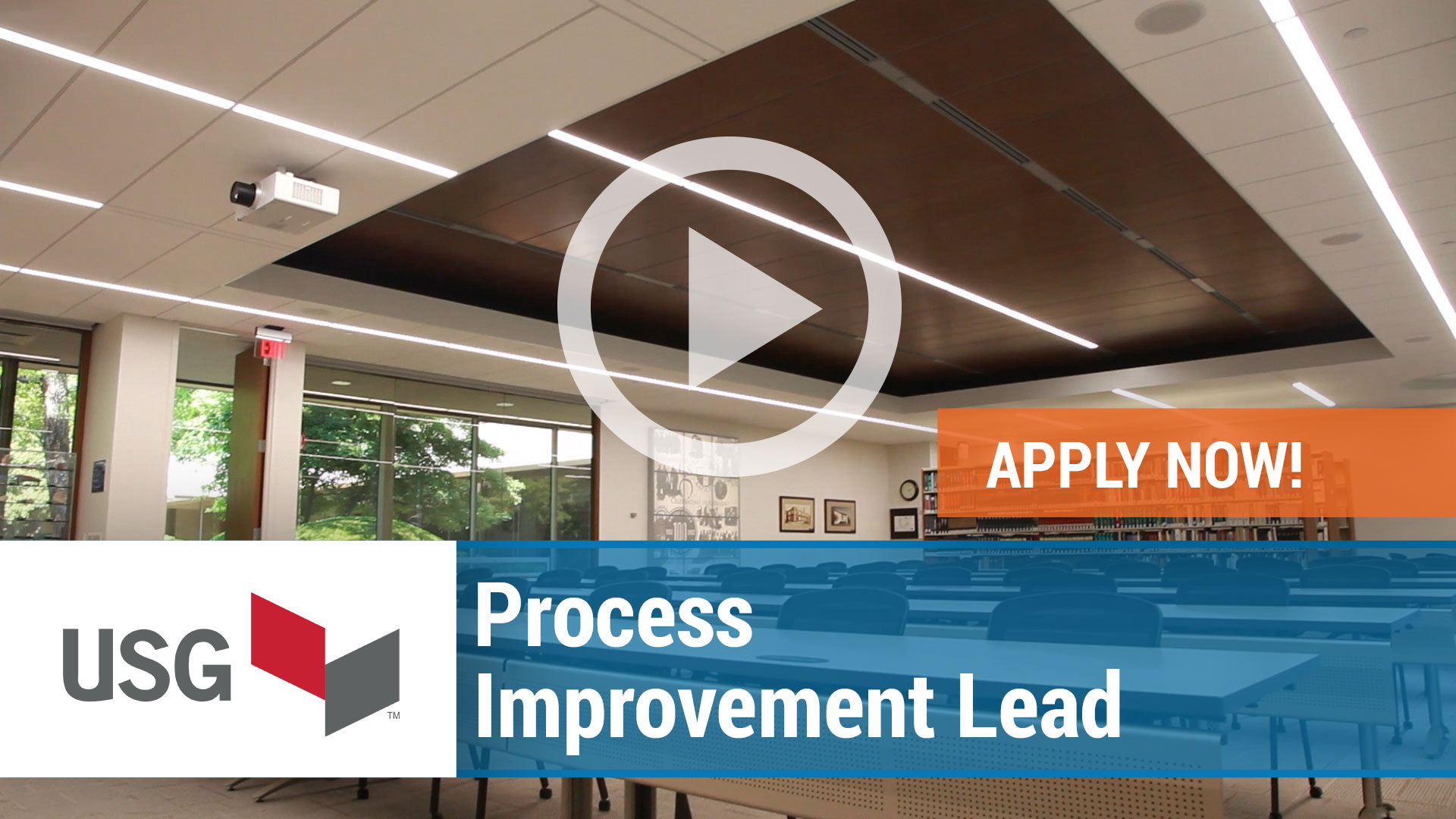Watch our careers video for available job opening Process Improvement Lead in USA