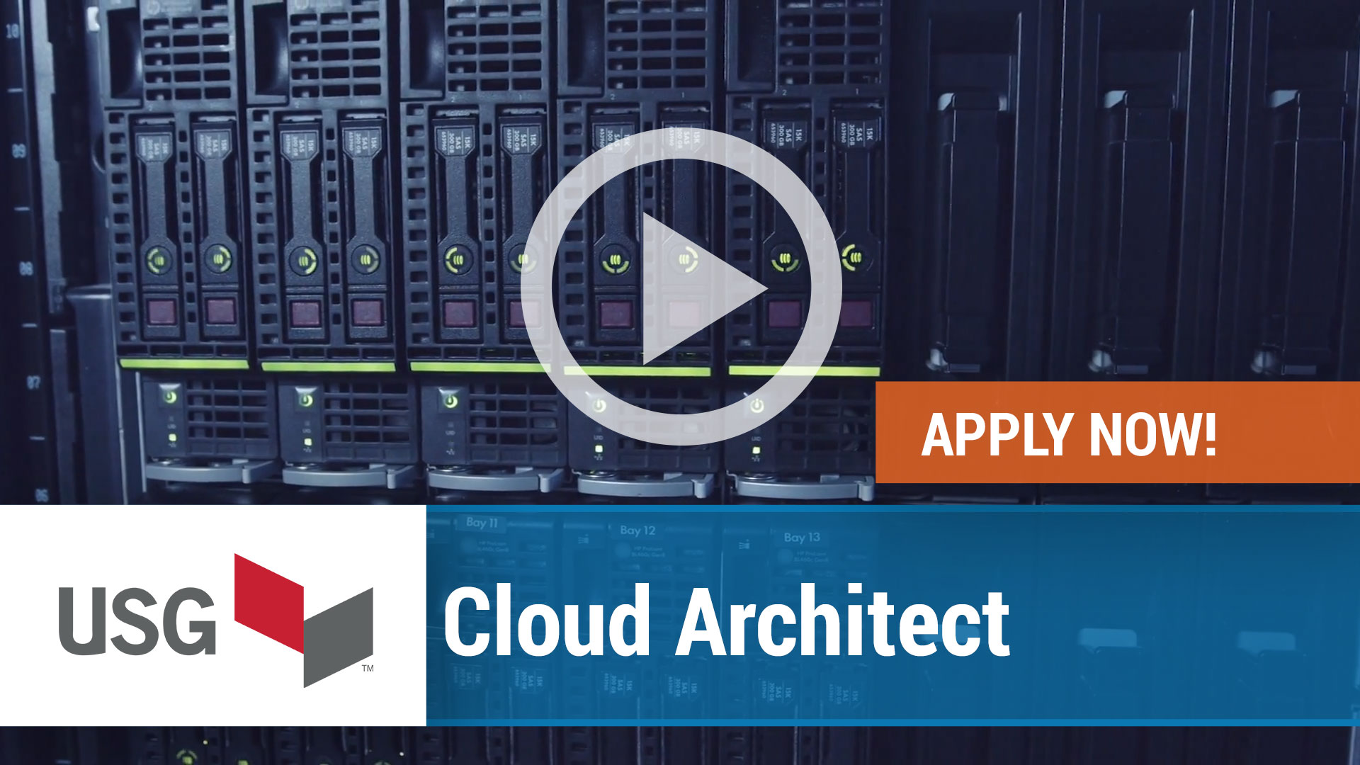 Watch our careers video for available job opening Cloud Architect in Chicago, IL, USA