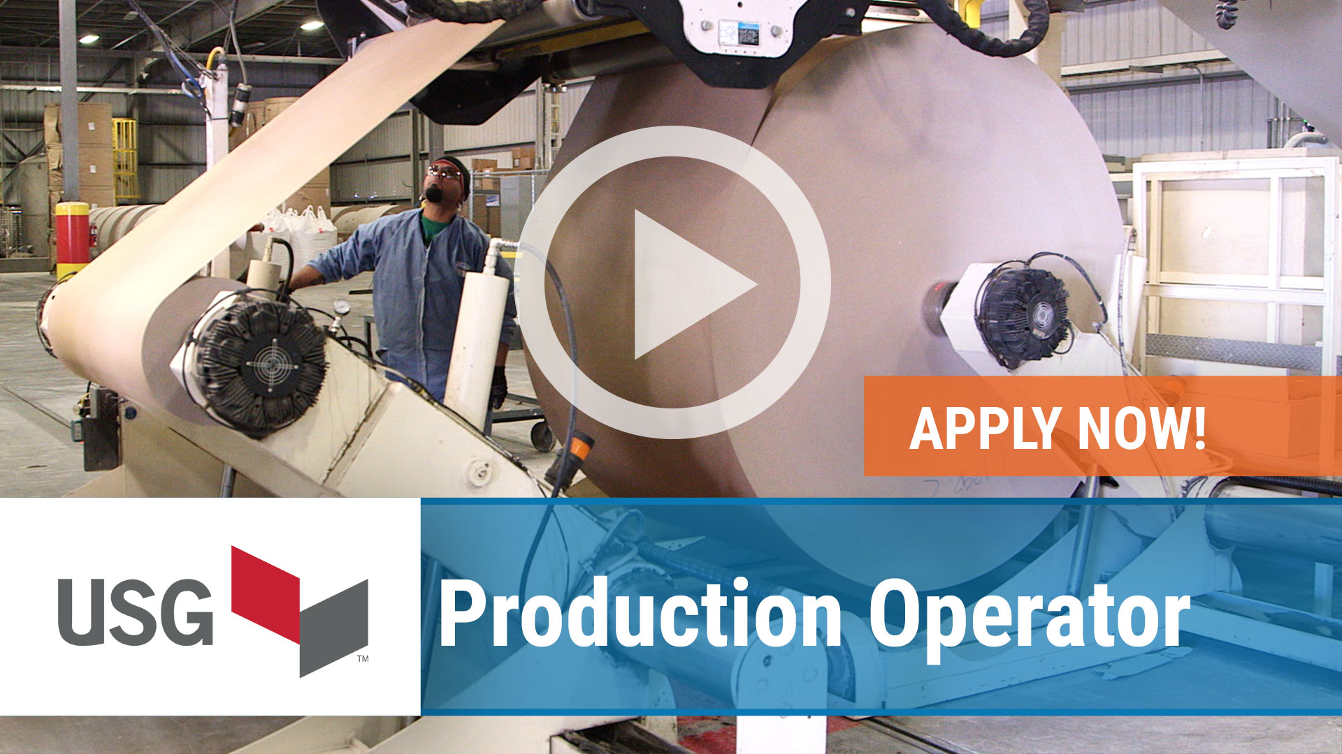Watch our careers video for available job opening Production Operator in Gypsum, OH, USA