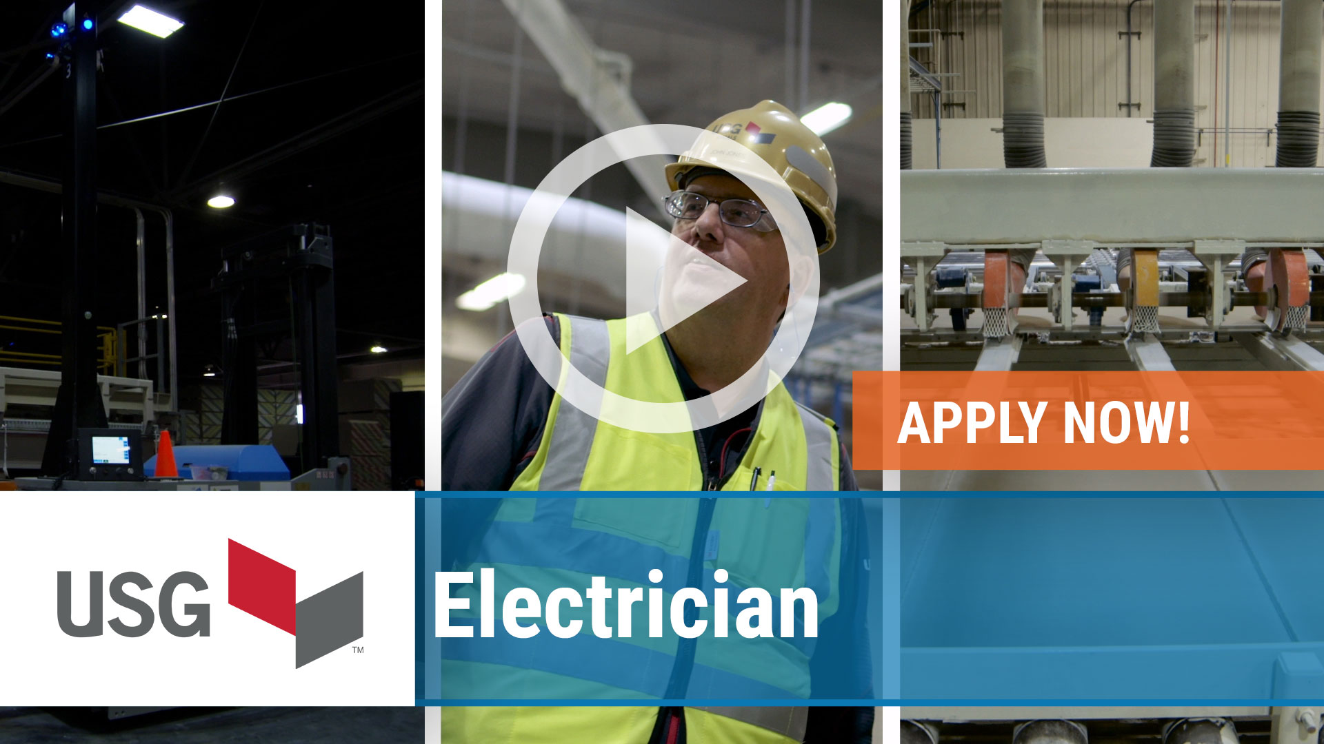 Watch our careers video for available job opening Electrician in East Chicago, Indiana, USA