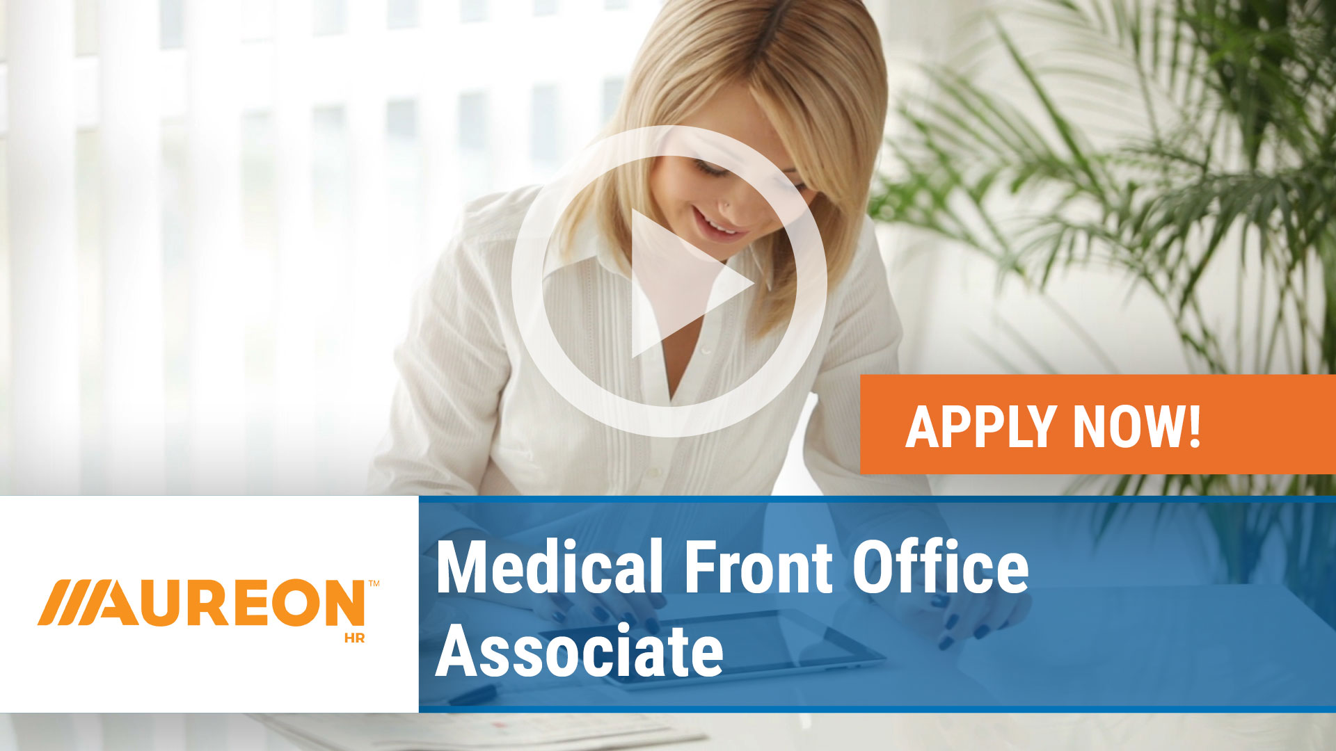 Watch our careers video for available job opening Medical Front Office Associate in Des Moines,  IA