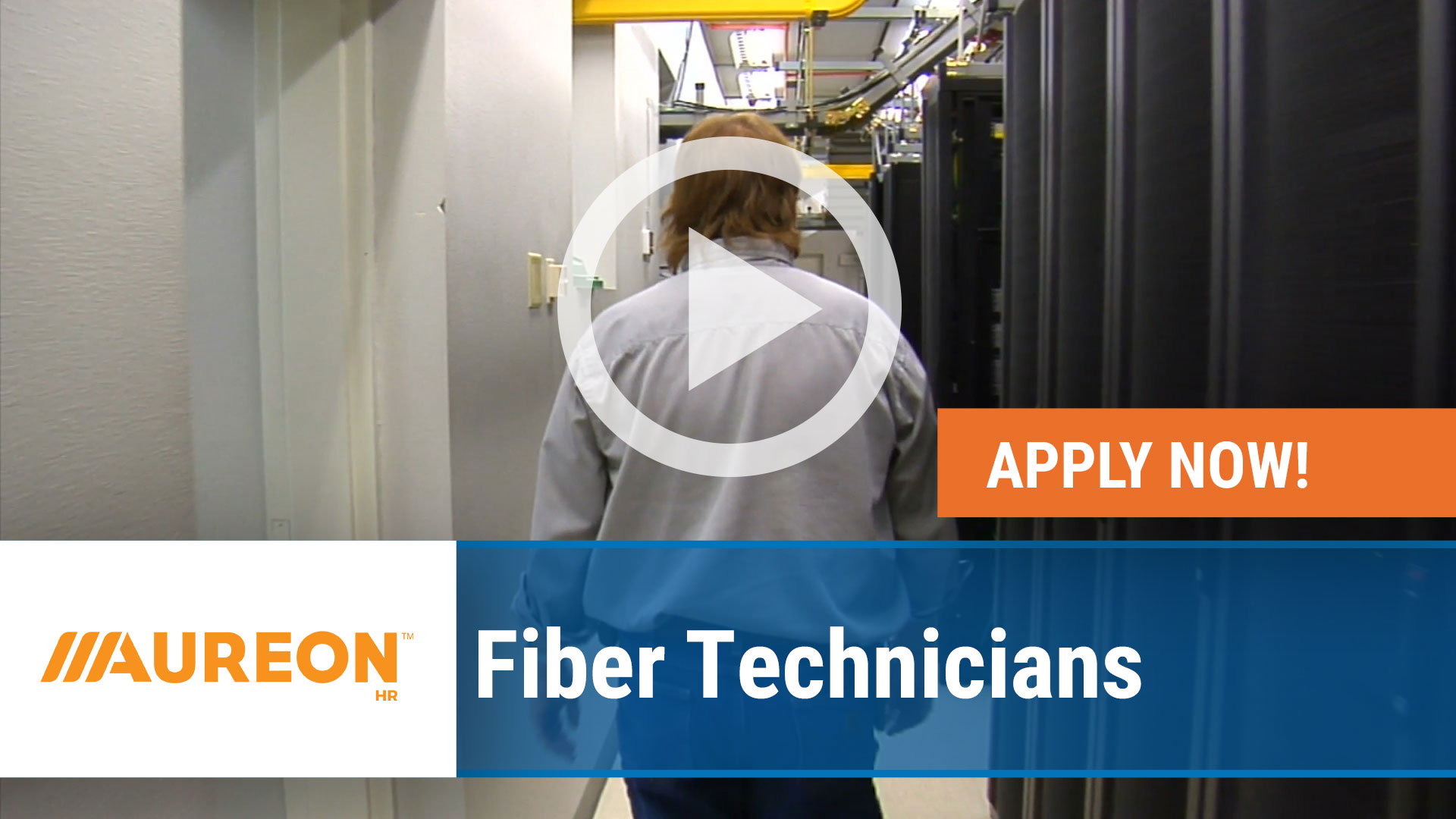 Watch our careers video for available job opening Fiber Technicians in Des Moines, IA