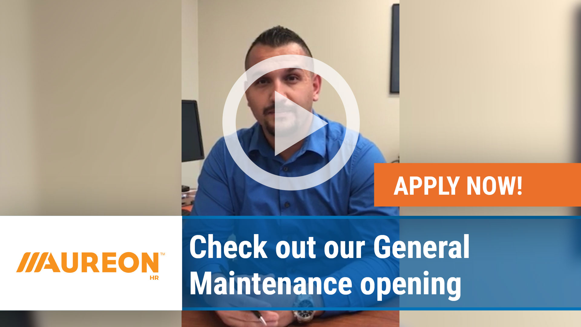 Watch our careers video for available job opening Check out our General Maintenance opening in Des Moines,  IA