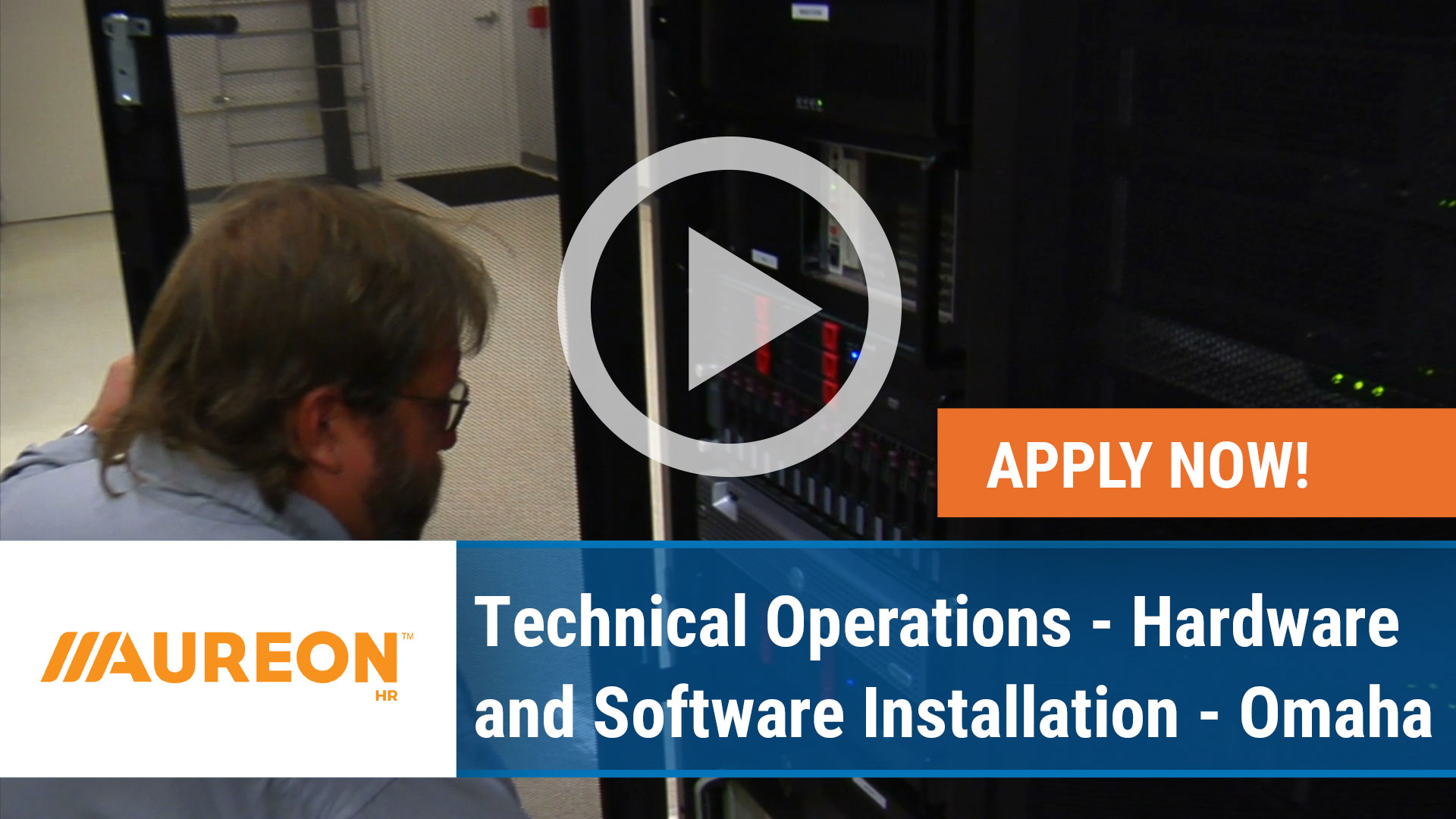 Watch our careers video for available job opening Technical Operations - Hardware and Software Installation - Omaha in Omaha, NE
