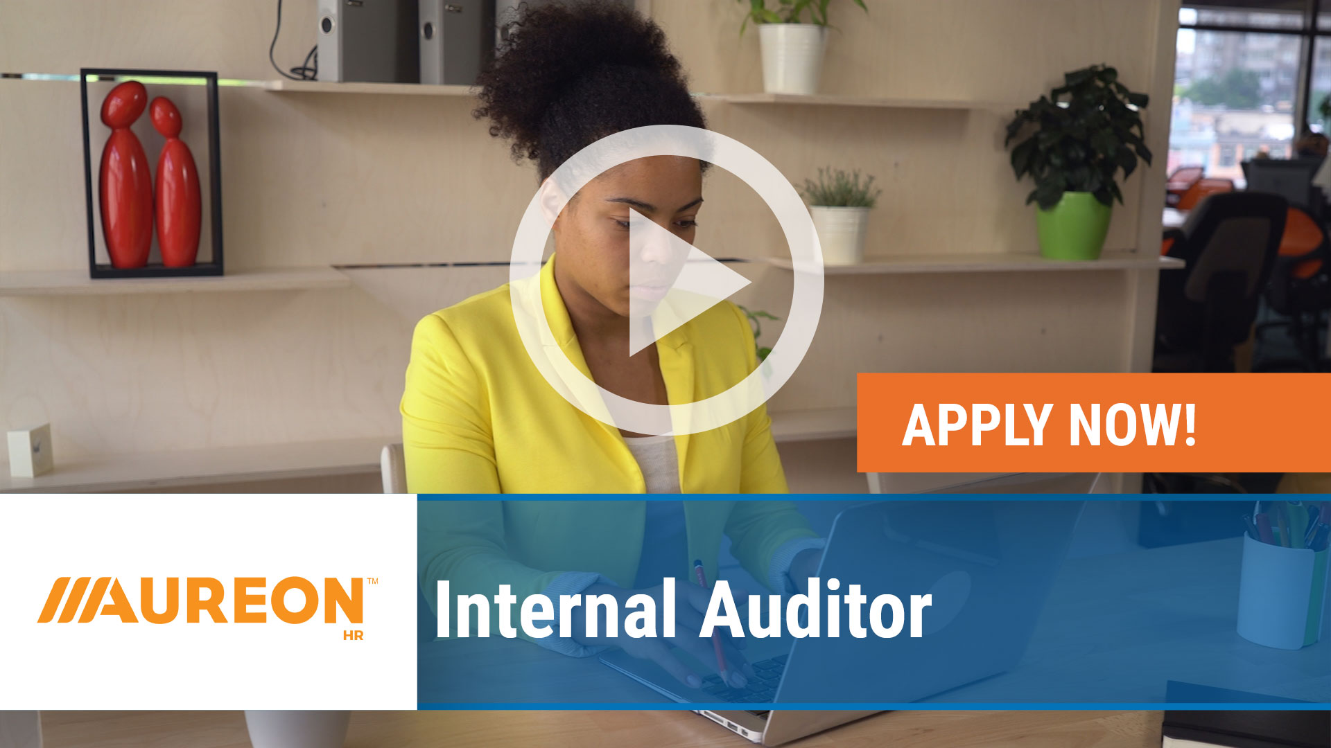 Watch our careers video for available job opening Internal Auditor in West Des Moines,  Iowa