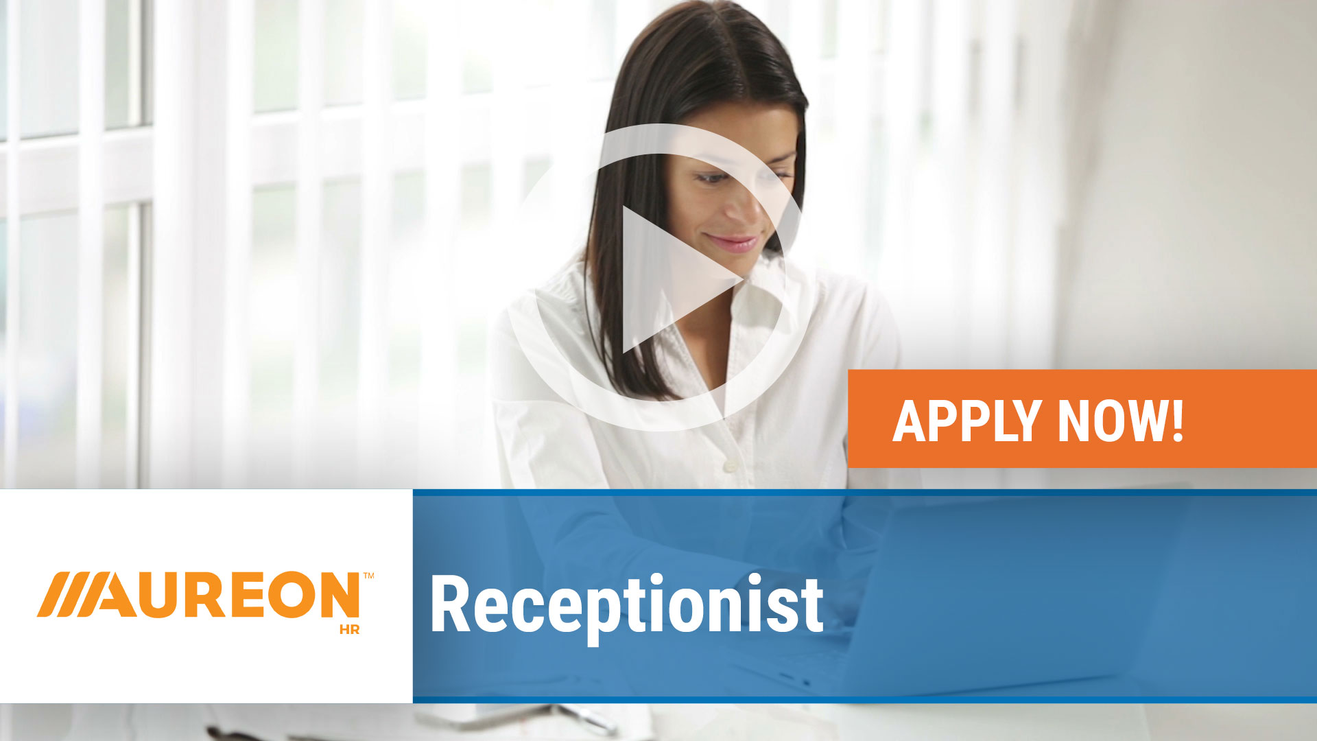 Watch our careers video for available job opening Receptionist in Des Moines,  IA