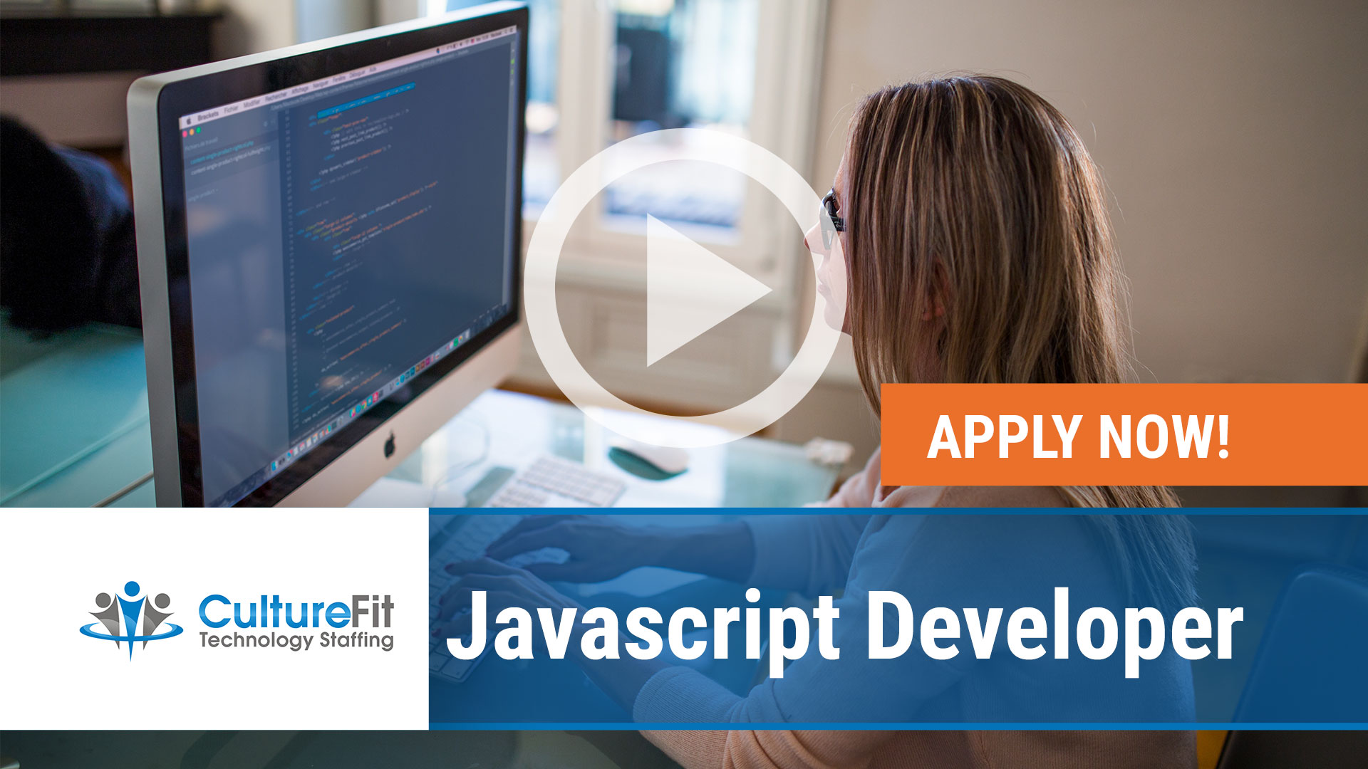 Watch our careers video for available job opening Javascript Developer in Various, Nationwide