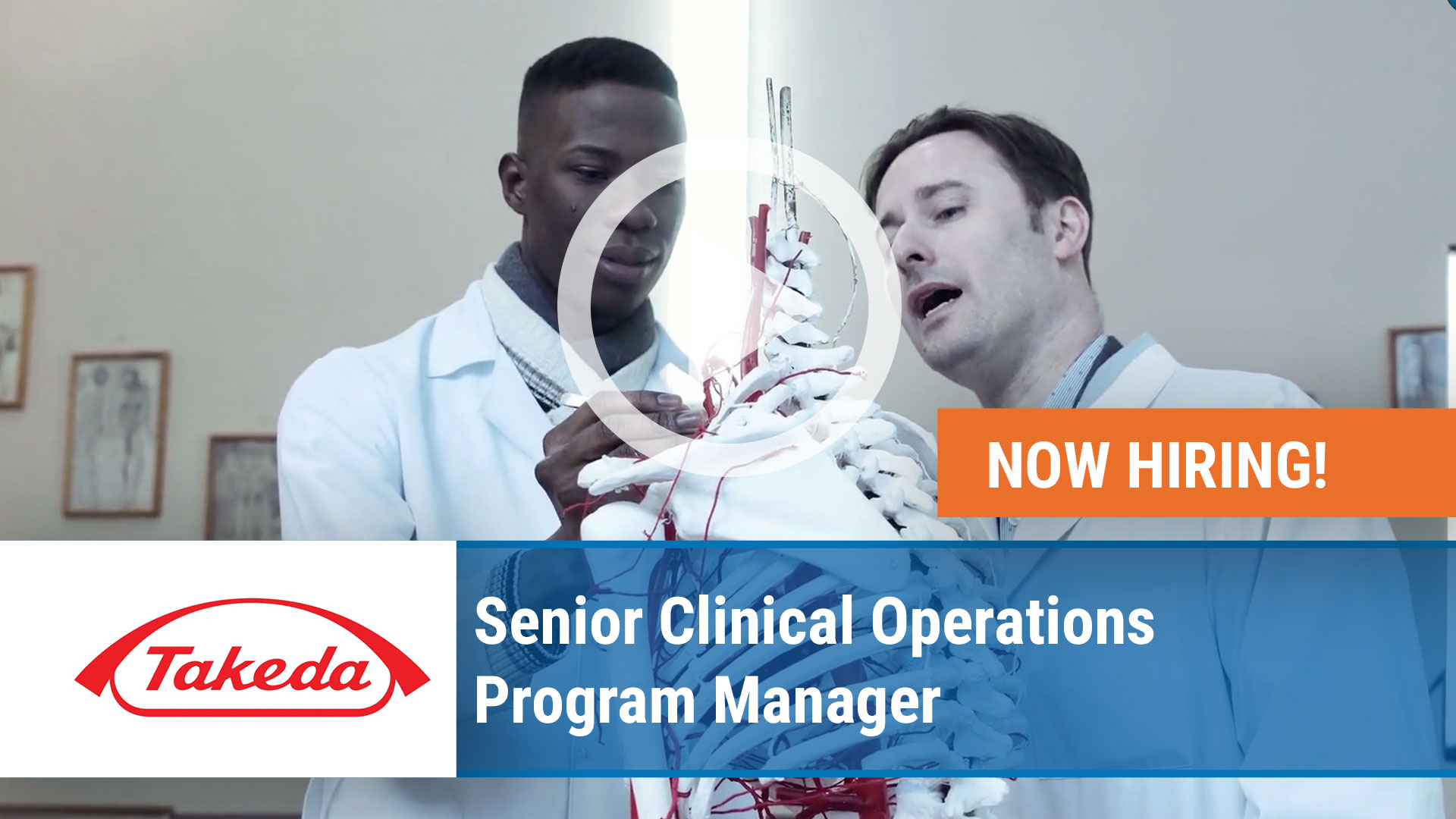 Watch our careers video for available job opening Senior Clinical Operations Program Manager in Cambridge, MA