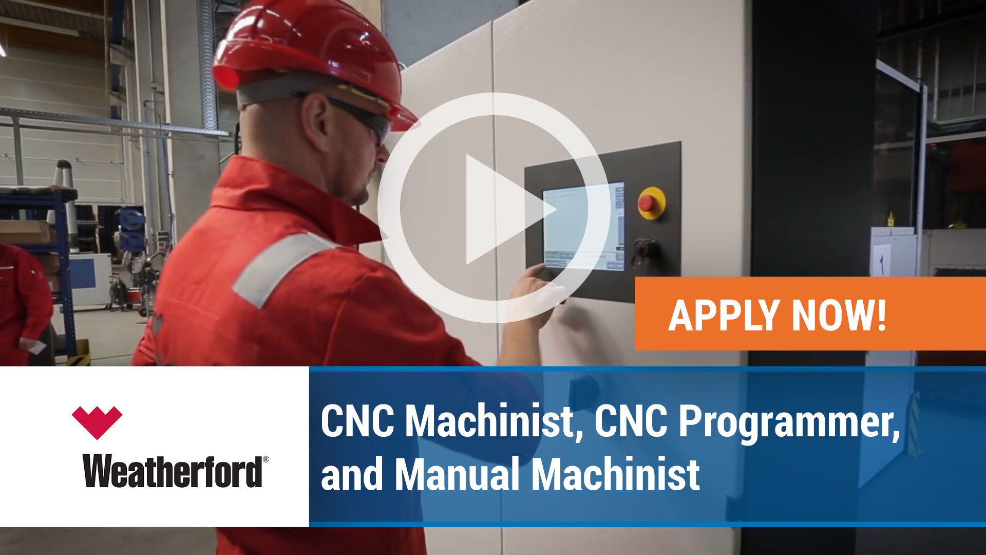 Watch our careers video for available job opening CNC Machinist IV in 401 Apollo Rd, Scott, LA, USA