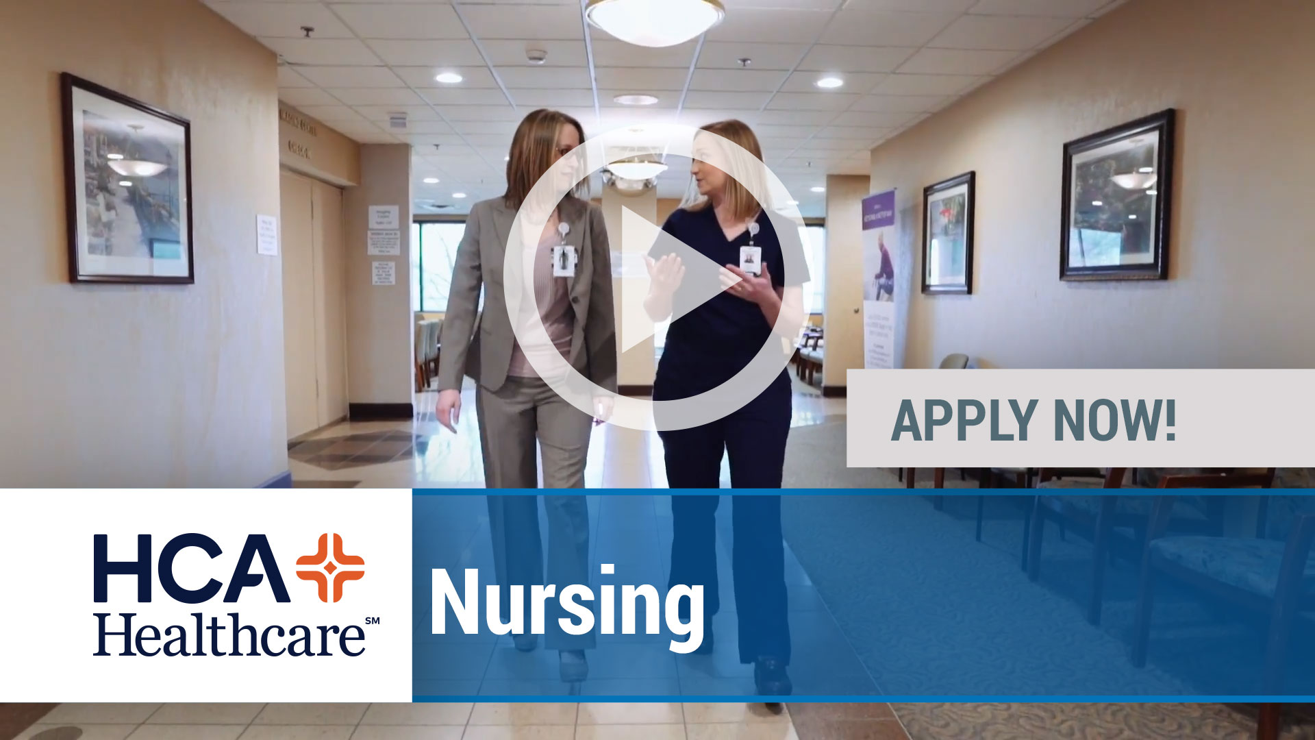 Watch our careers video for available job opening Multiple Job Opportunities Now Available with HCA in Multiple Locations Nationwide