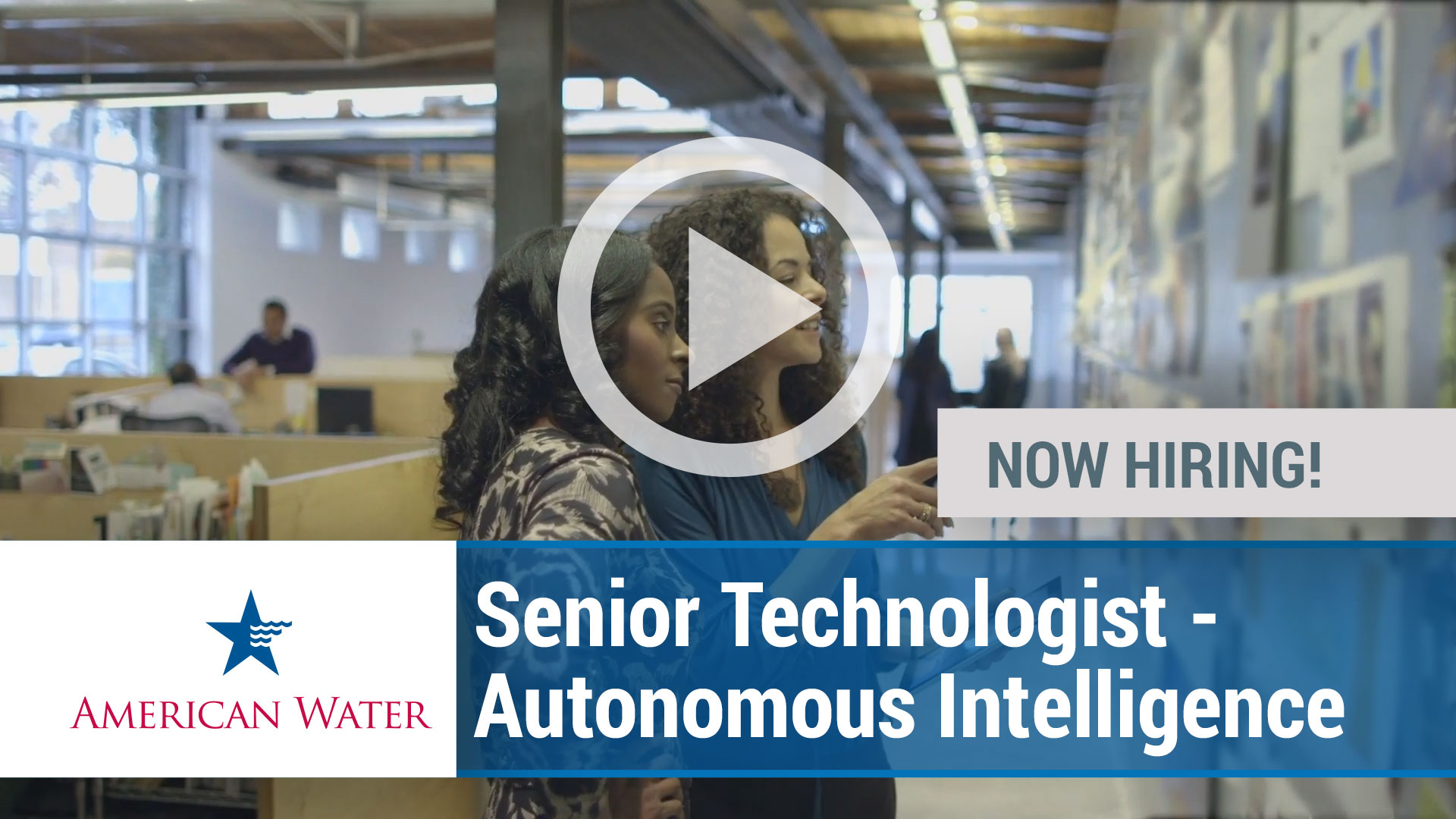 Watch our careers video for available job opening Senior Technologist - Autonomous Intelligence in Camden, NJ, USA