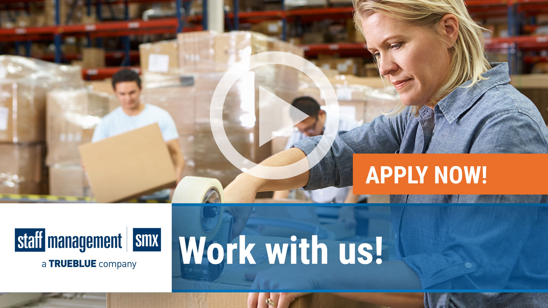 Watch our careers video for available job opening Staff Management  SMX is Hiring in Varies, Varies