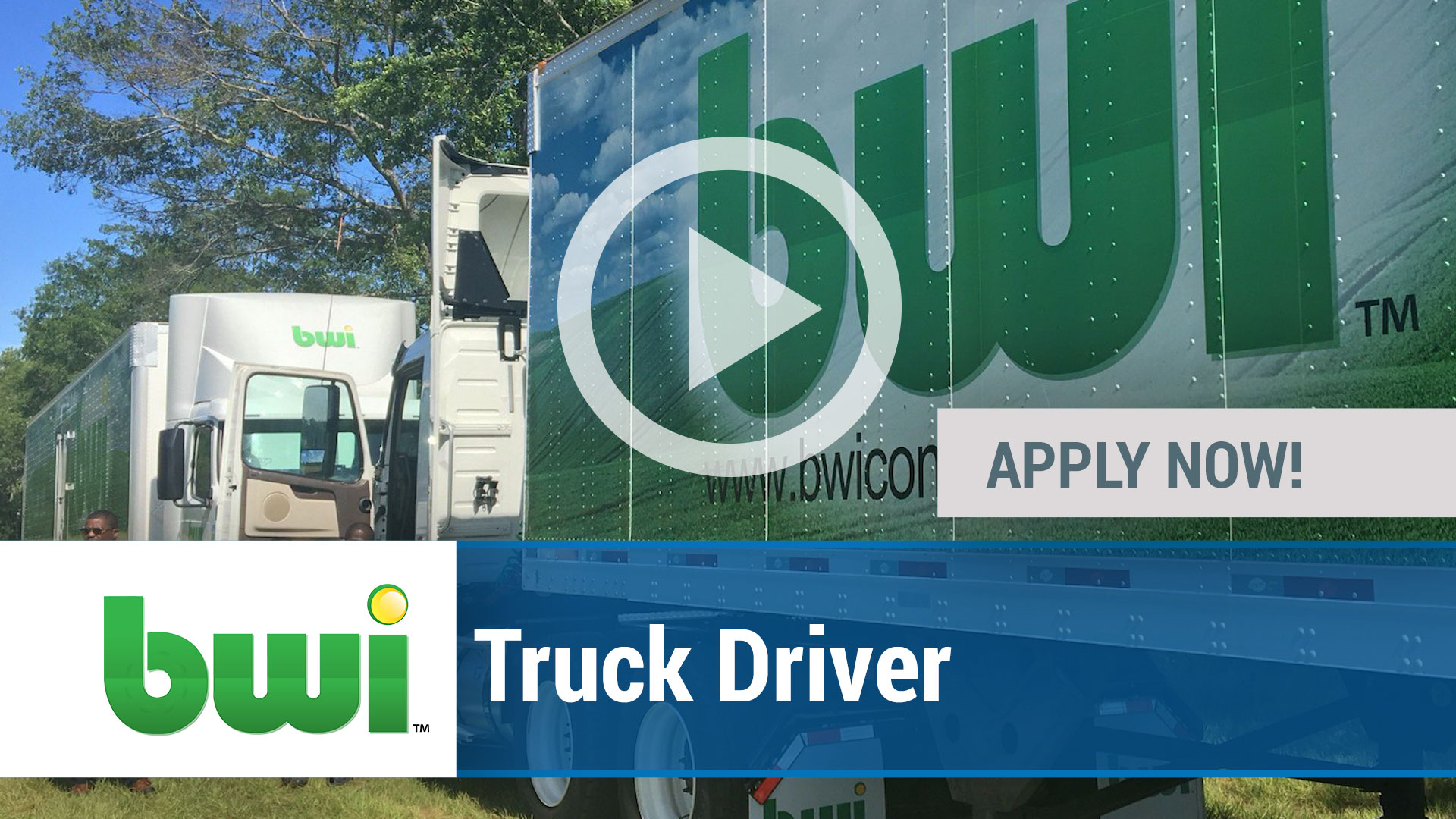 Watch our careers video for available job opening Truck Driver in Meridian, MS, USA