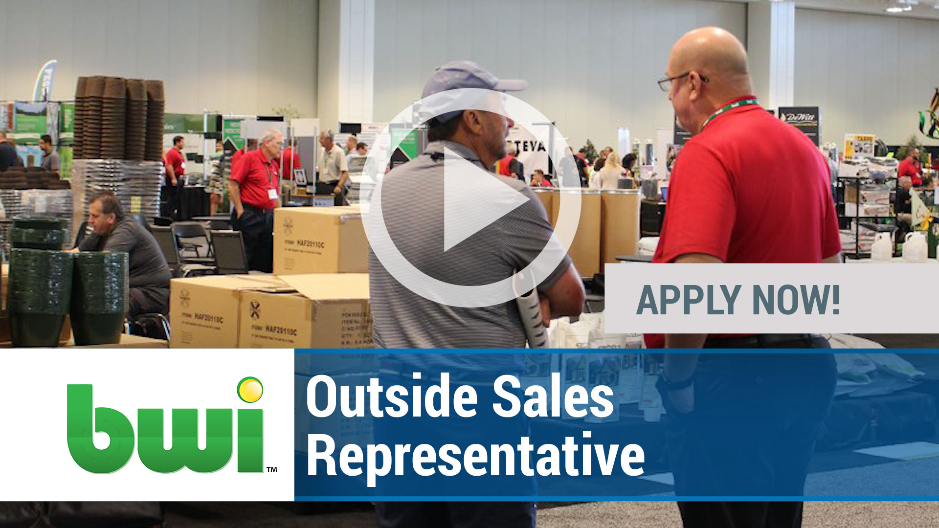 Watch our careers video for available job opening Outside Sales Representative in Tyler, TX, USA
