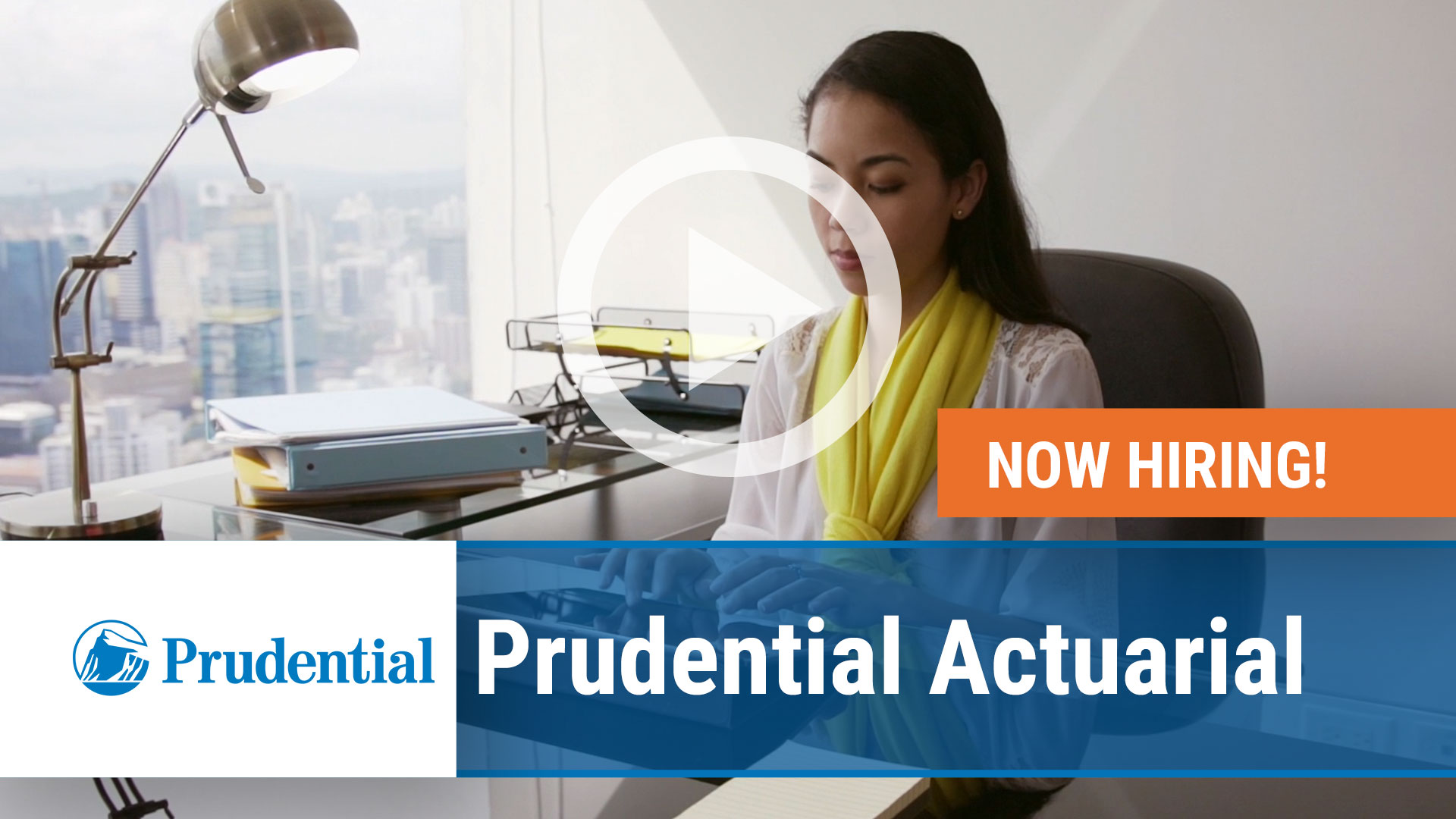 Watch our careers video for available job opening Prudential Actuarial in Hartford CT, Newark NJ
