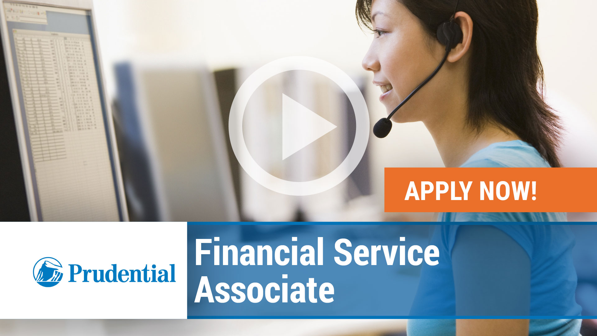 Watch our careers video for available job opening Financial Service Associate in Scranton, PA