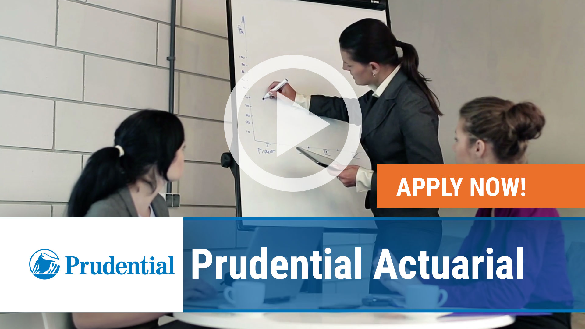 Watch our careers video for available job opening Prudential Actuarial in Newark NJ, Dresher PA, Hartfo
