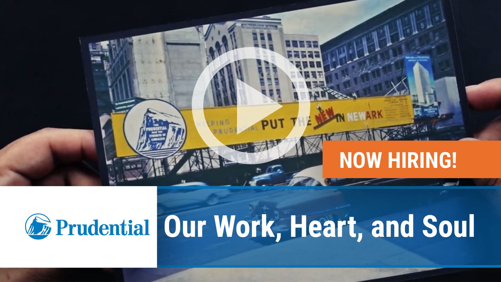 Watch our careers video for available job opening Our Work, Heart, and Soul in Newark NJ, New York NY