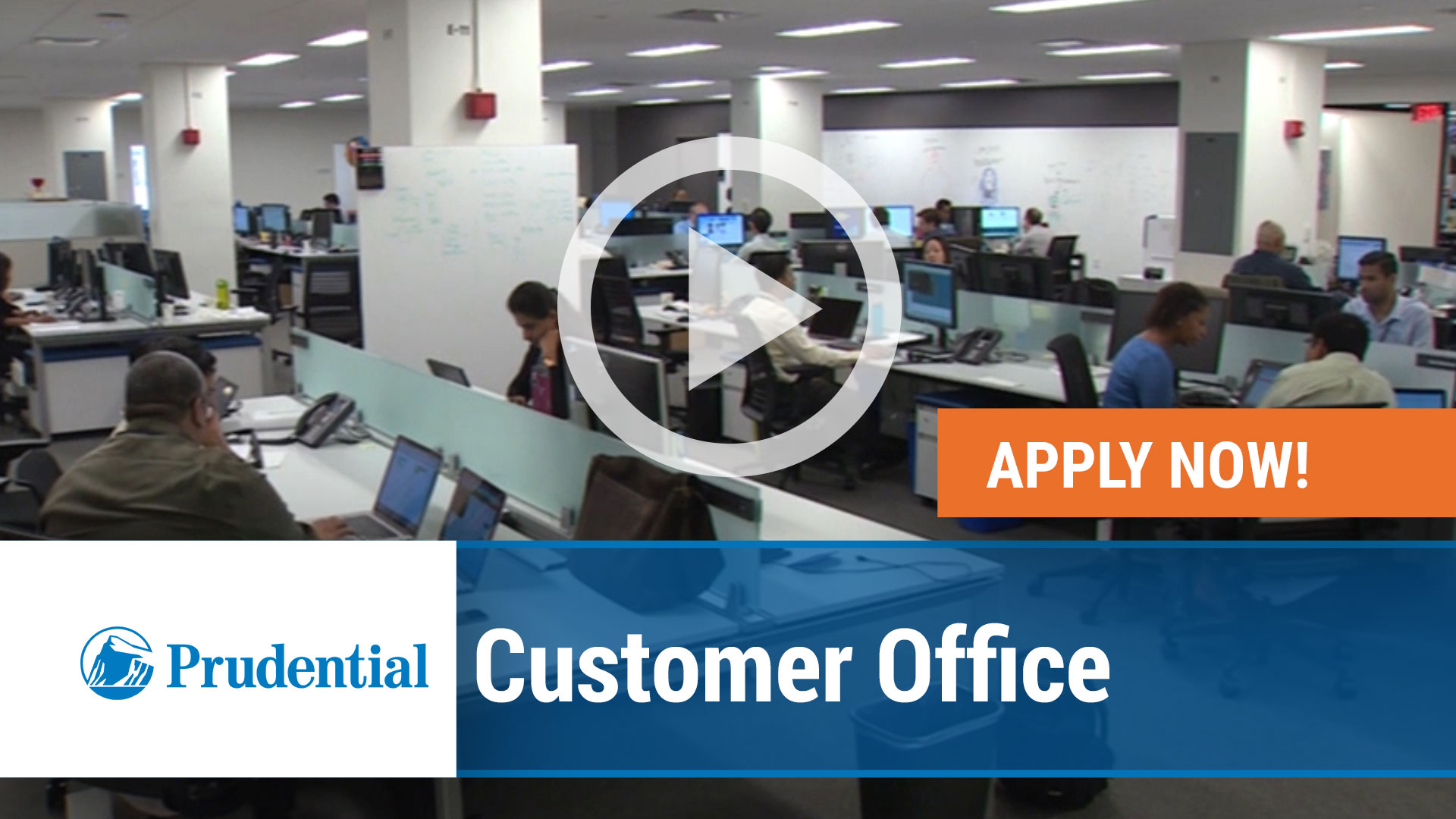 Watch our careers video for available job opening Customer Office in Newark, NJ