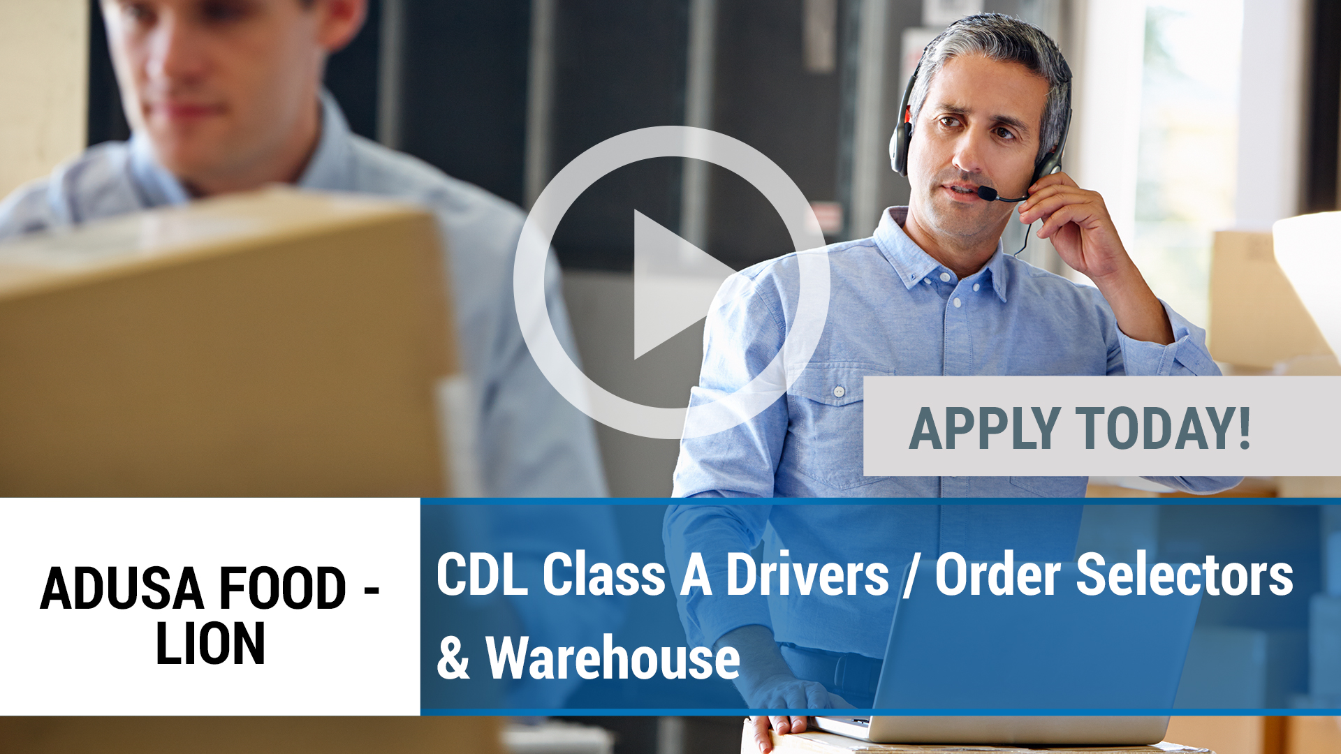 Watch our careers video for available job opening CDL Class A Drivers _ Order Selectors & Warehouse in Greencastle, PA