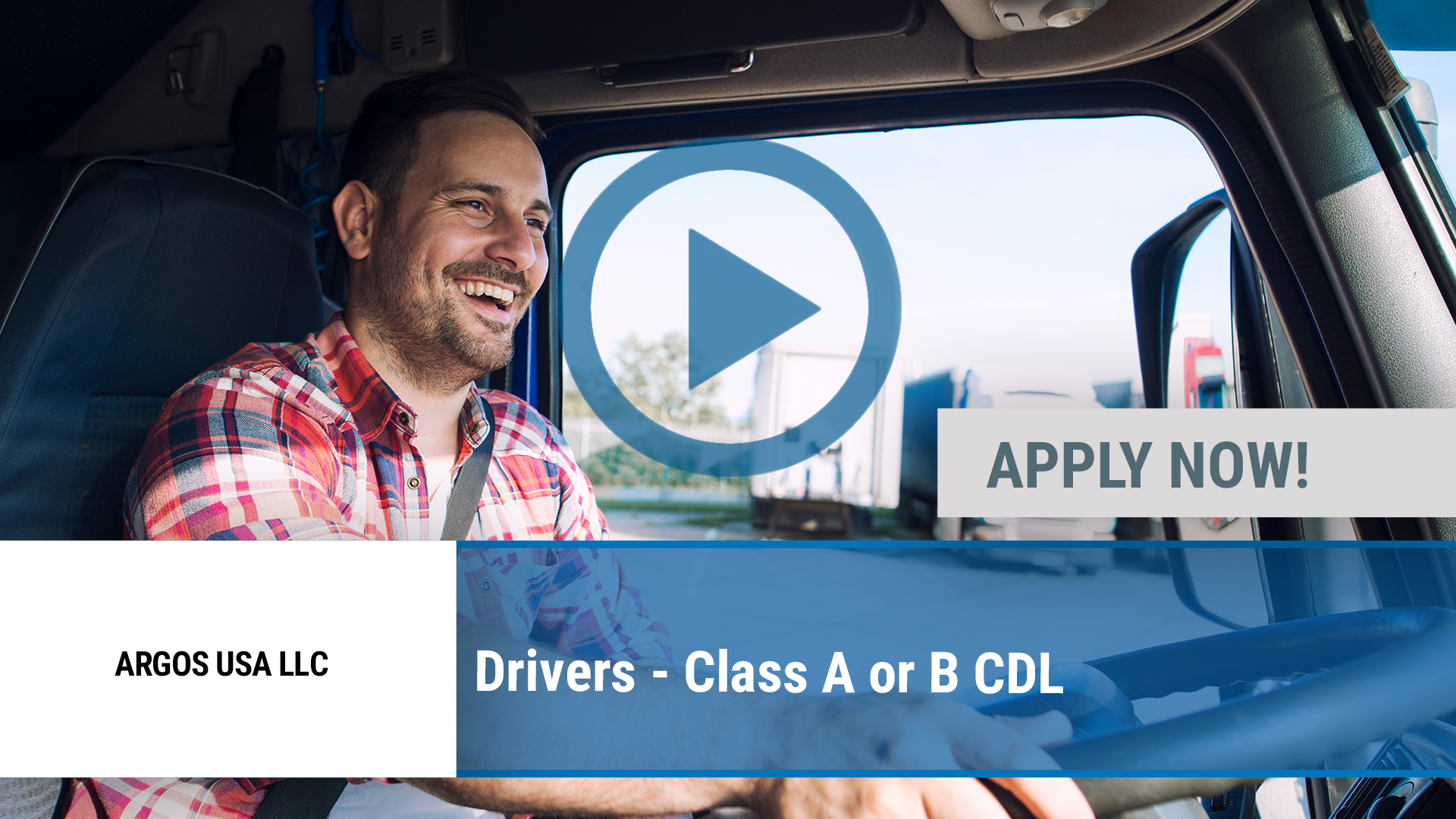 Watch our careers video for available job opening Drivers - Class A or B CDL in Richardson, TX