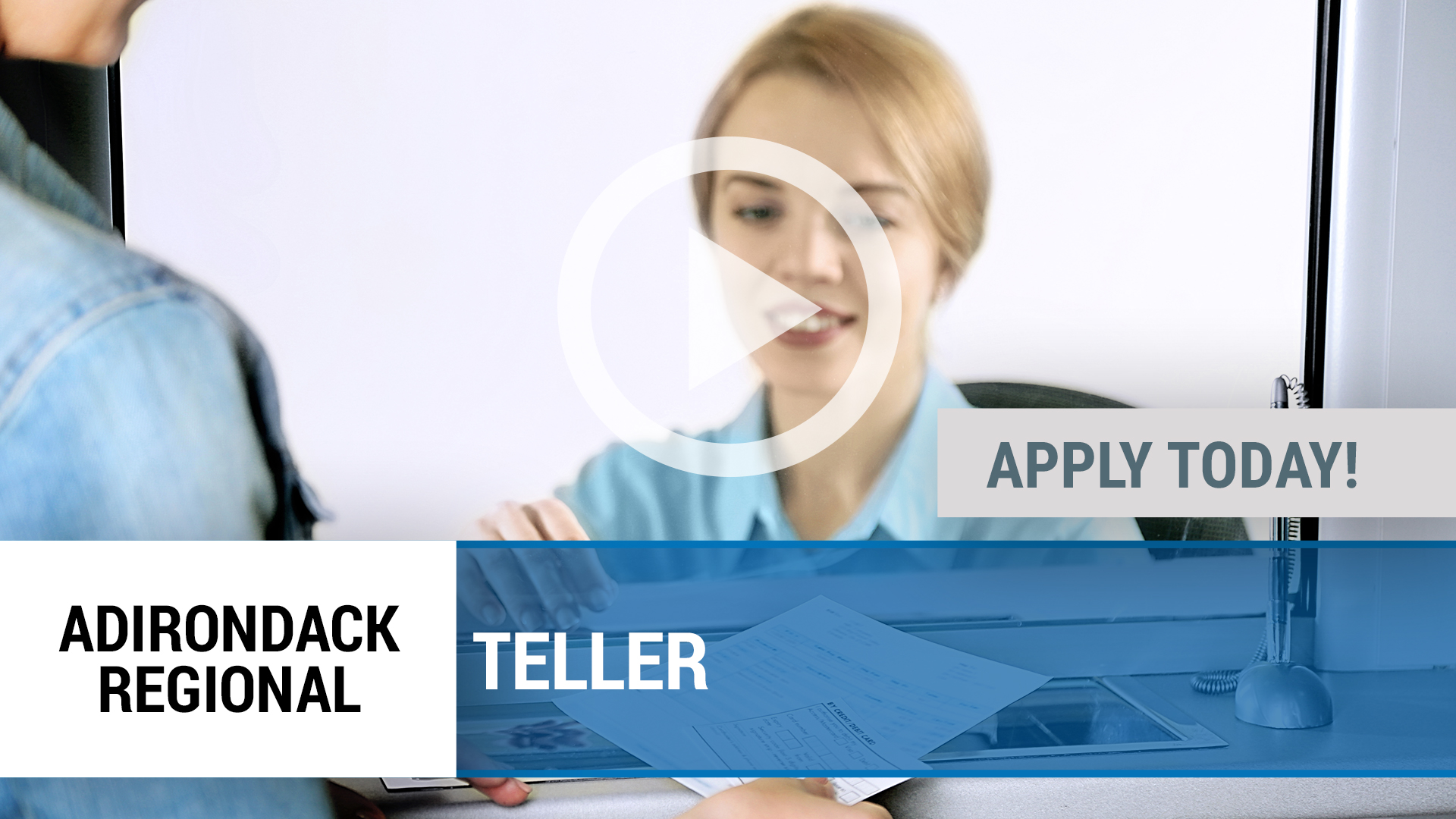 Watch our careers video for available job opening TE;;ER in Tupper Lake, NY