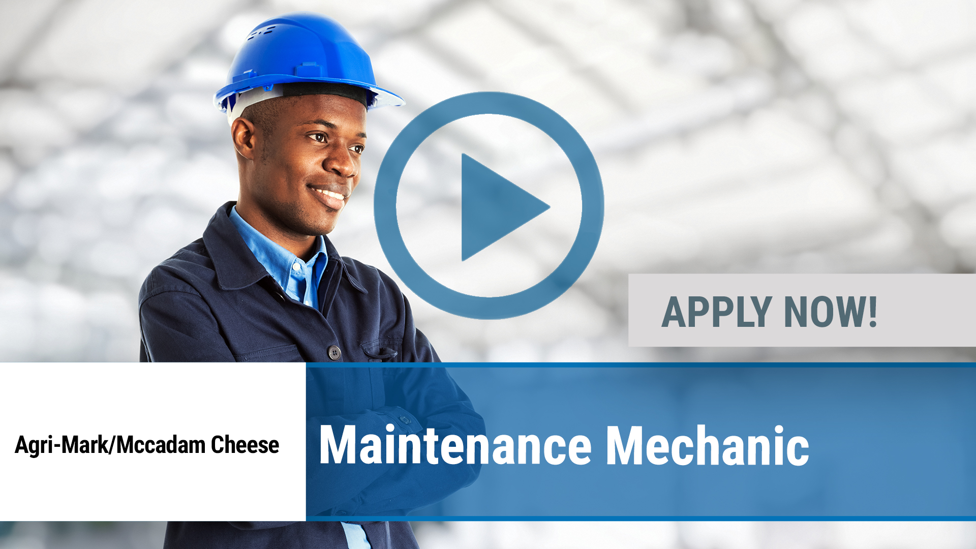 Watch our careers video for available job opening Maintenance Mechanic in Chateaugay, NY