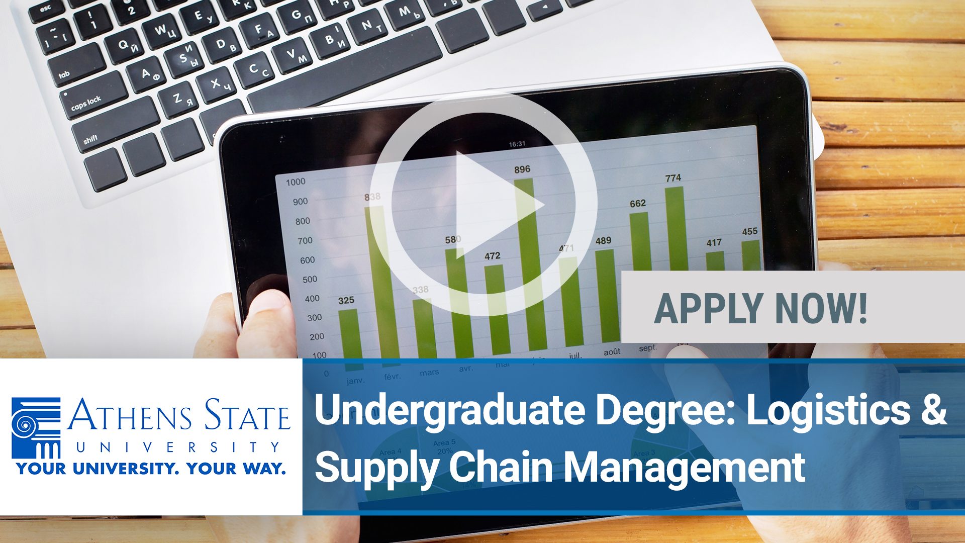 Watch our careers video for available job opening Logistics and Supply Chain Management in TBD