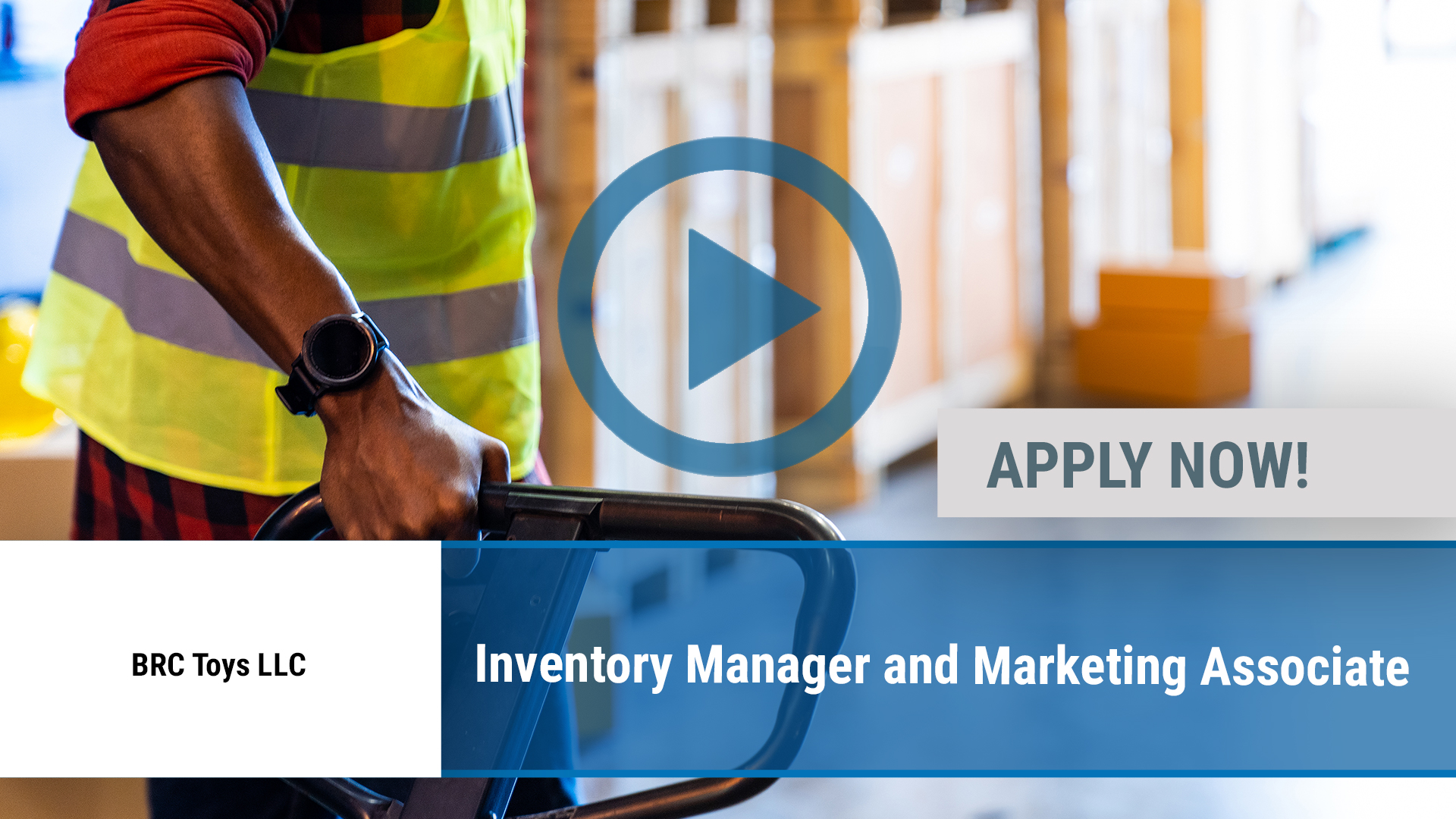 Watch our careers video for available job opening Inventory Manager and Marketing Associate in Dallas, TX