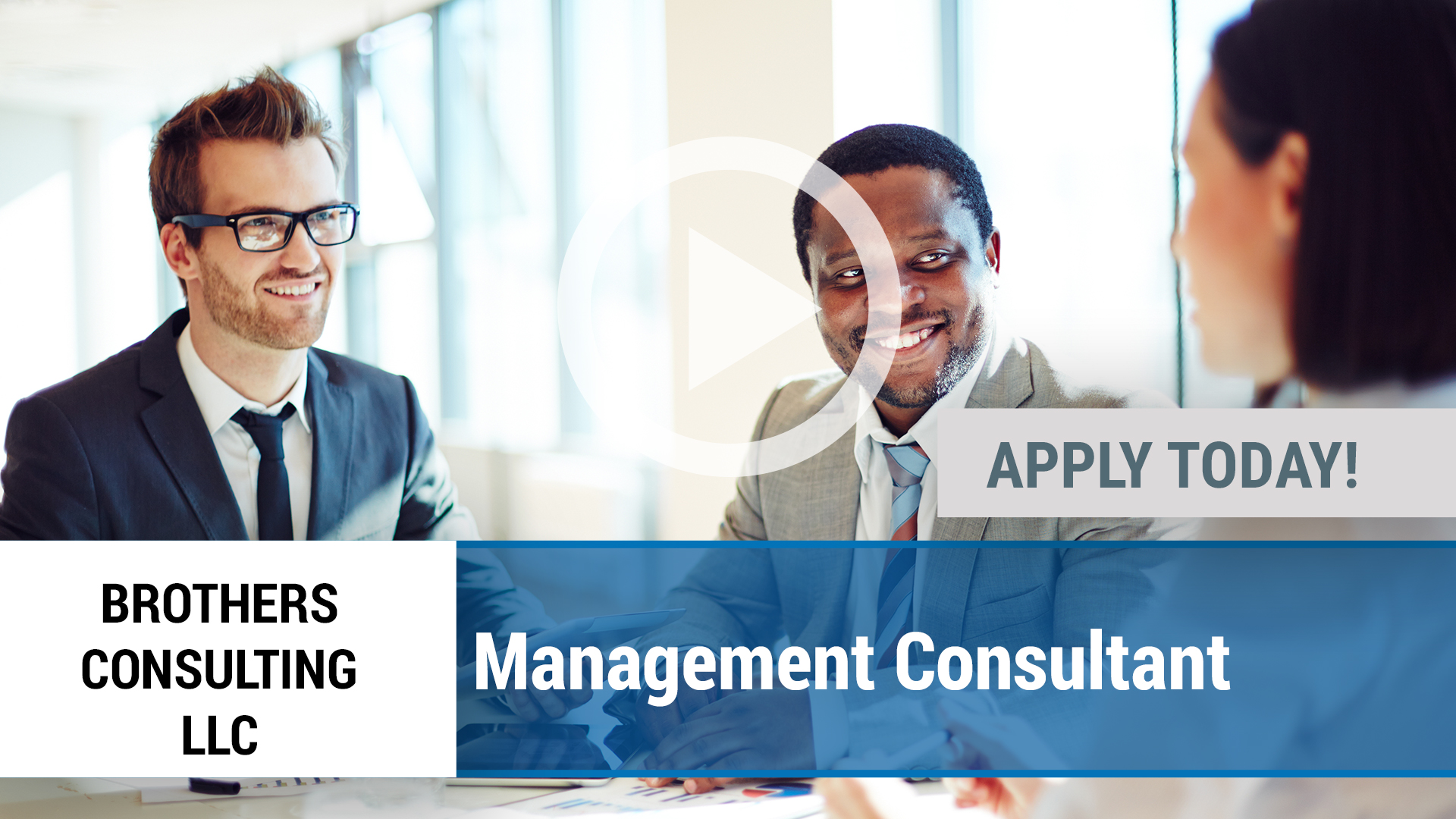 Watch our careers video for available job opening Management Consultant in Plano, TX