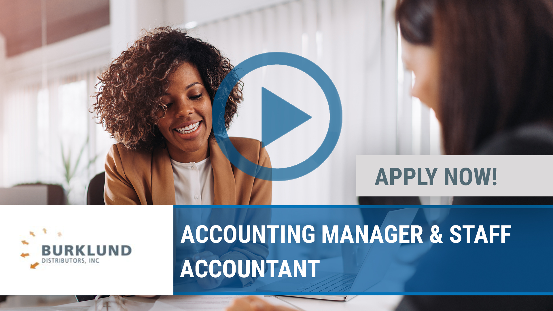 Watch our careers video for available job opening ACCOUNTING MANAGER & STAFF ACCOUNTANT in East Peoria, IL