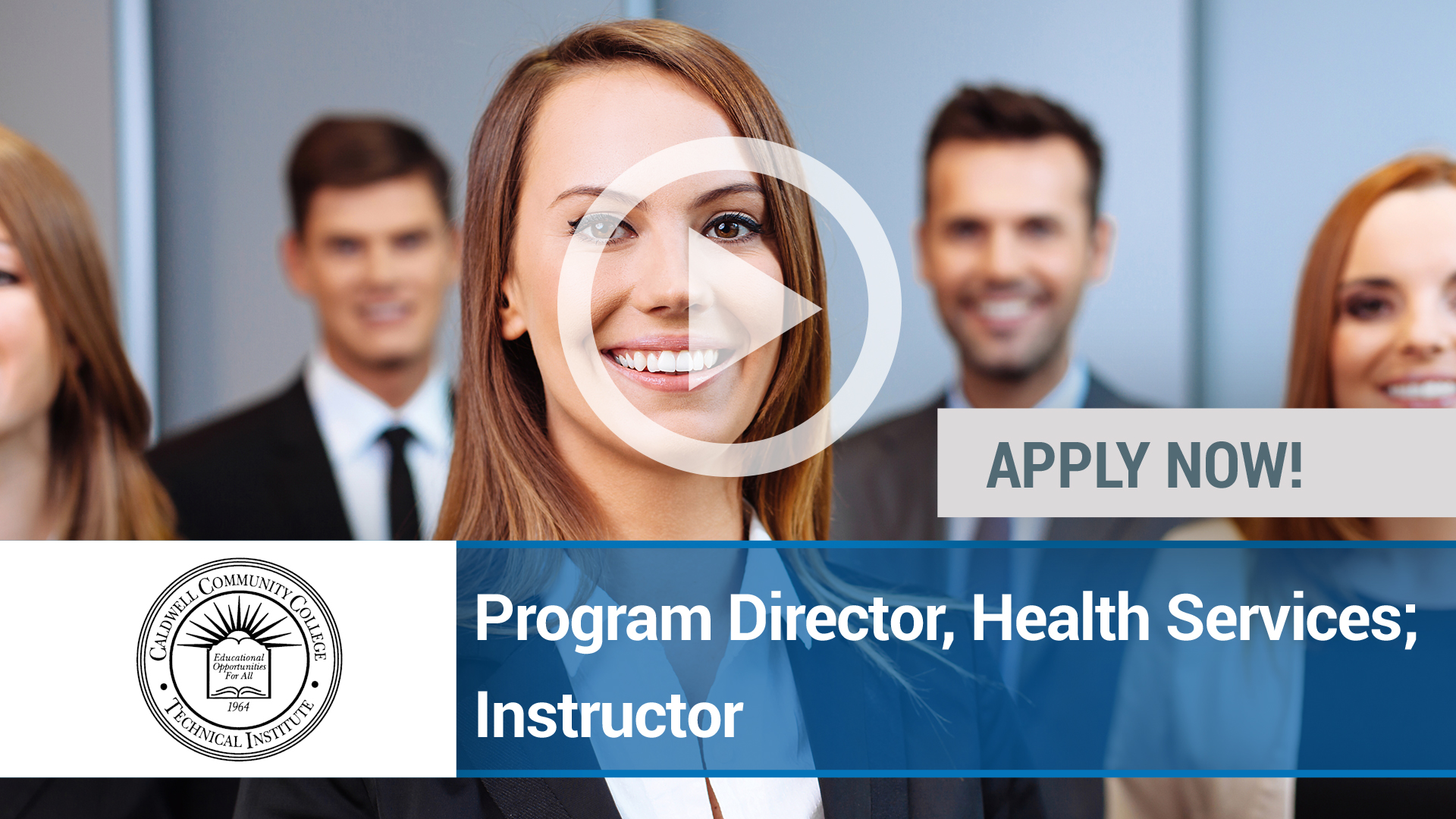 Watch our careers video for available job opening Program Director, Health Services; Instructor in Charlotte, NC