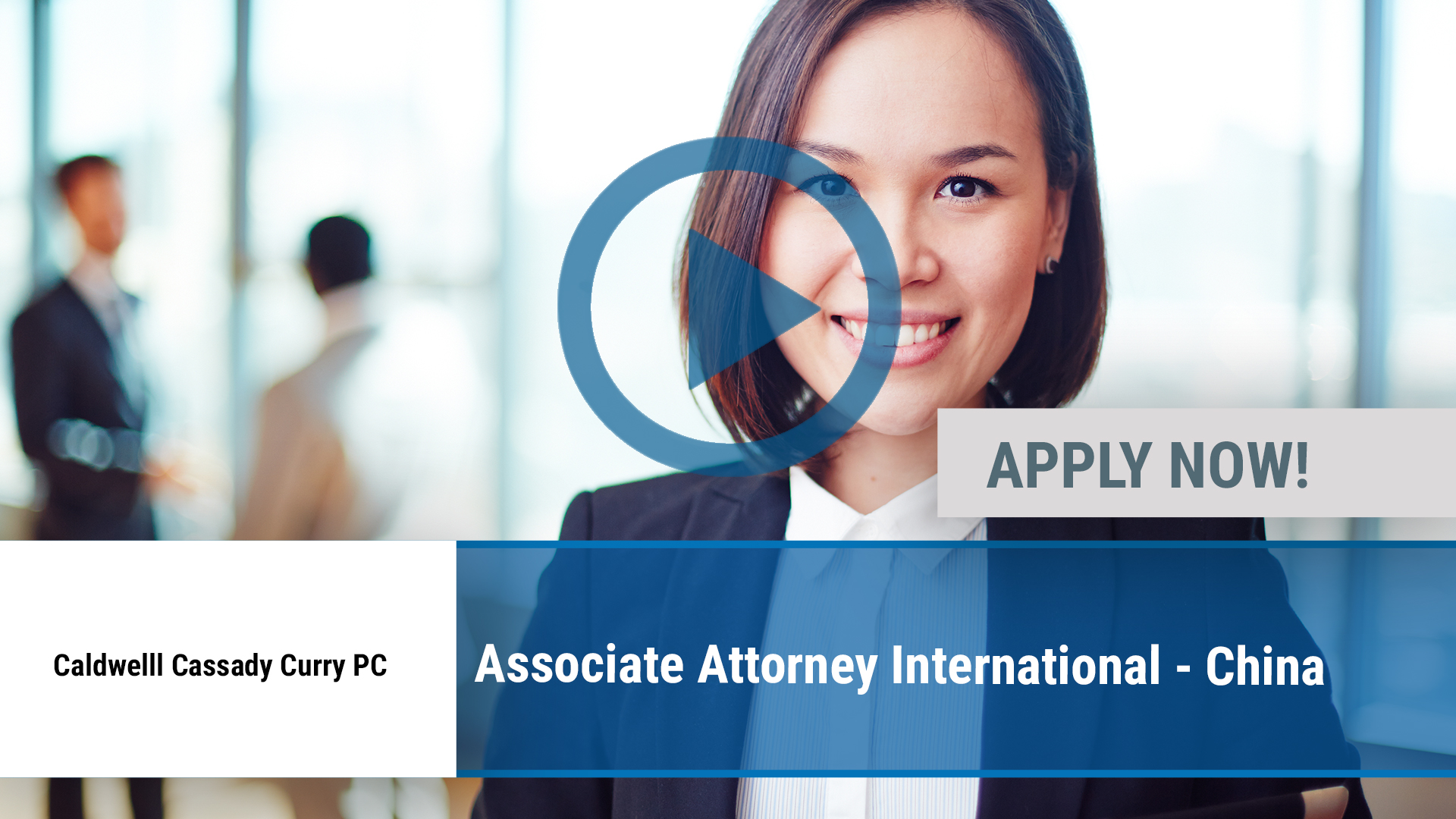 Watch our careers video for available job opening Associate Attorney International - China in Dallas, TX